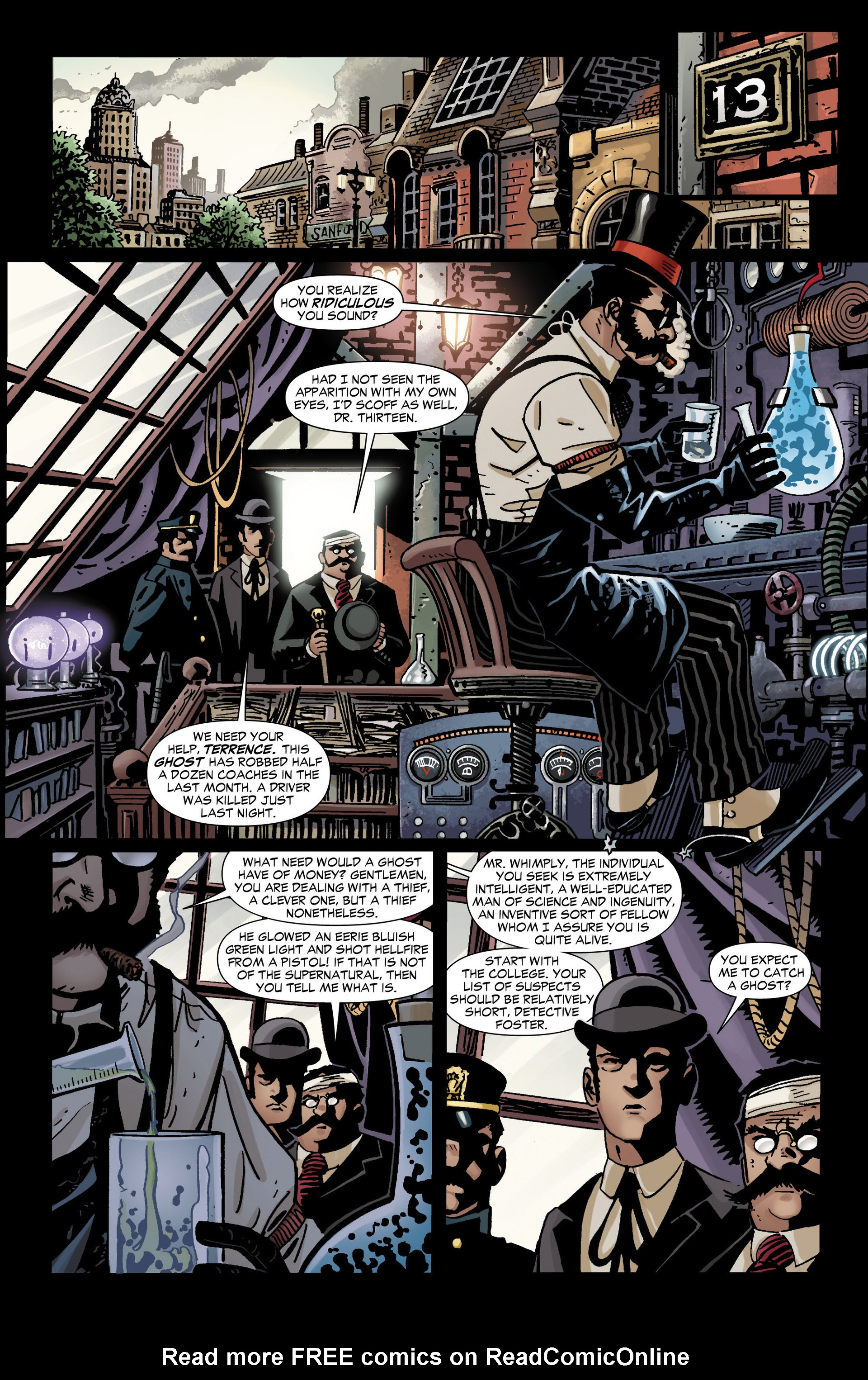 Read online All-Star Western (2011) comic -  Issue #11 - 25