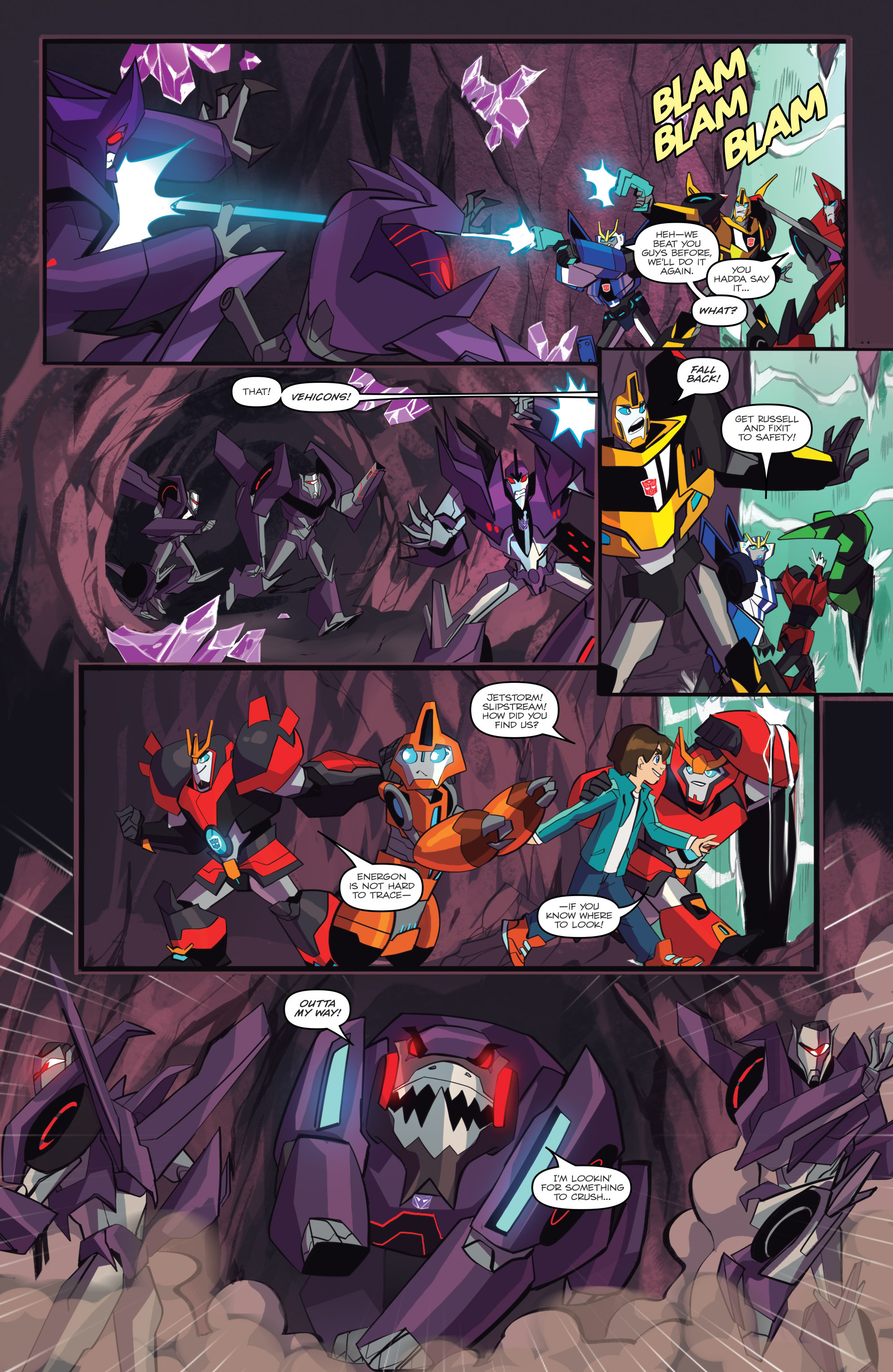 Read online Transformers: Robots In Disguise (2015) comic -  Issue #6 - 15