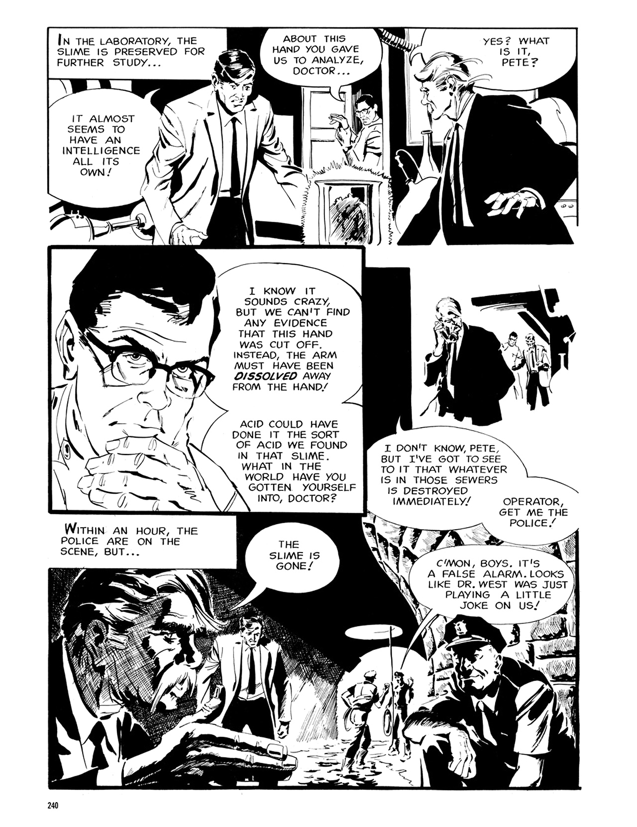 Read online Eerie Archives comic -  Issue # TPB 6 - 239