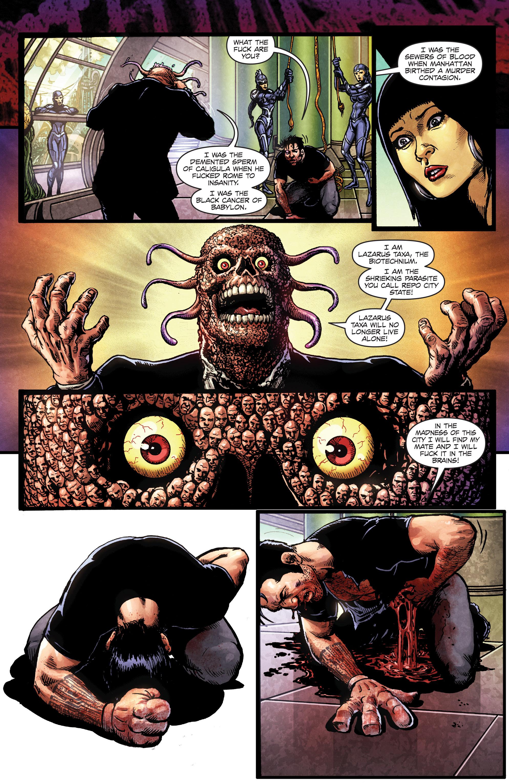 Read online Ballistic (2013) comic -  Issue #5 - 22