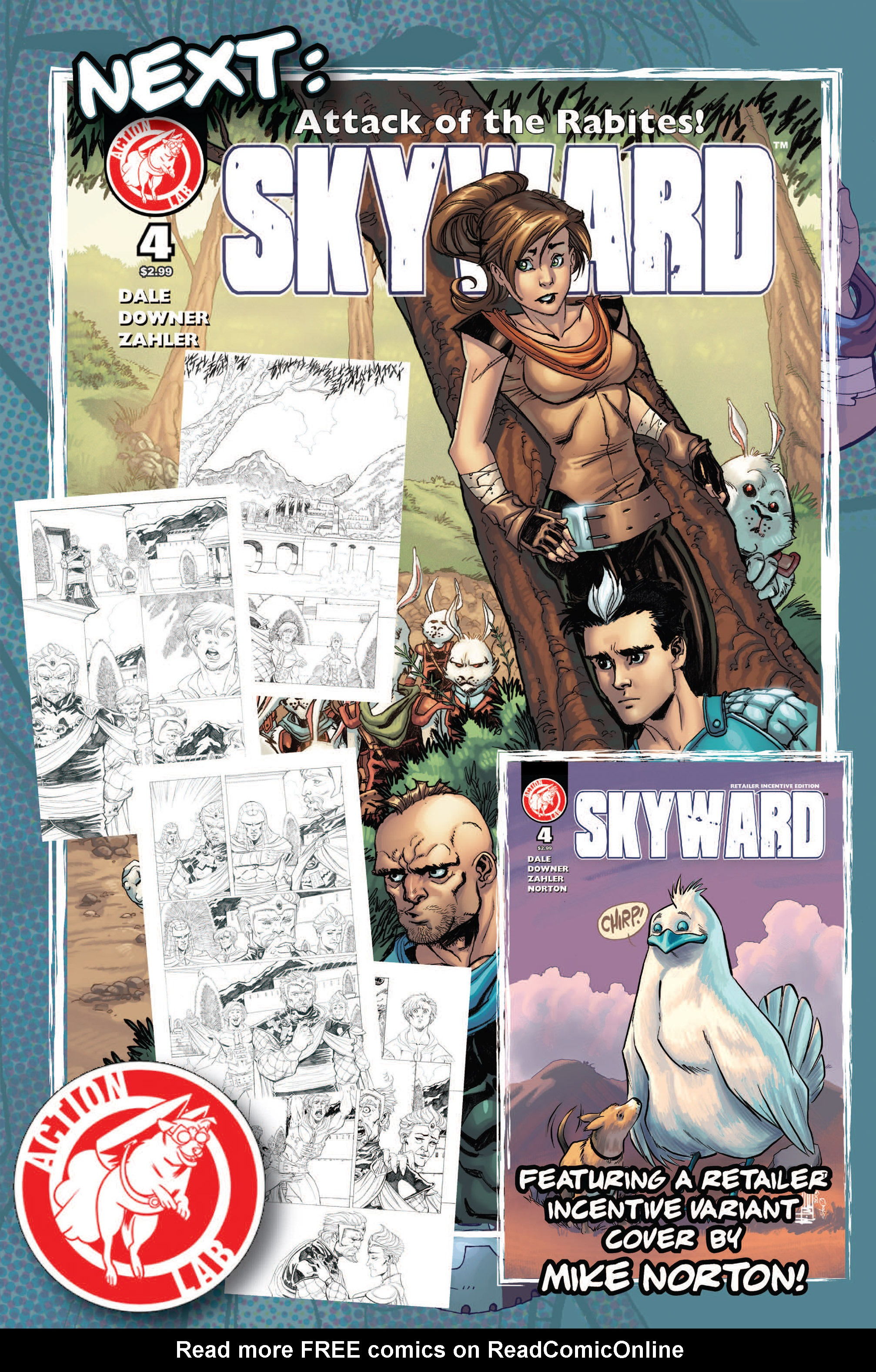 Read online Skyward comic -  Issue #3 - 29