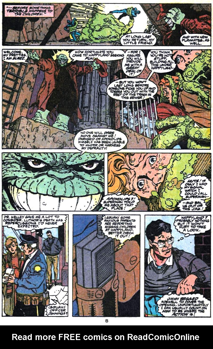 Adventures of Superman (1987) 475 Page 8