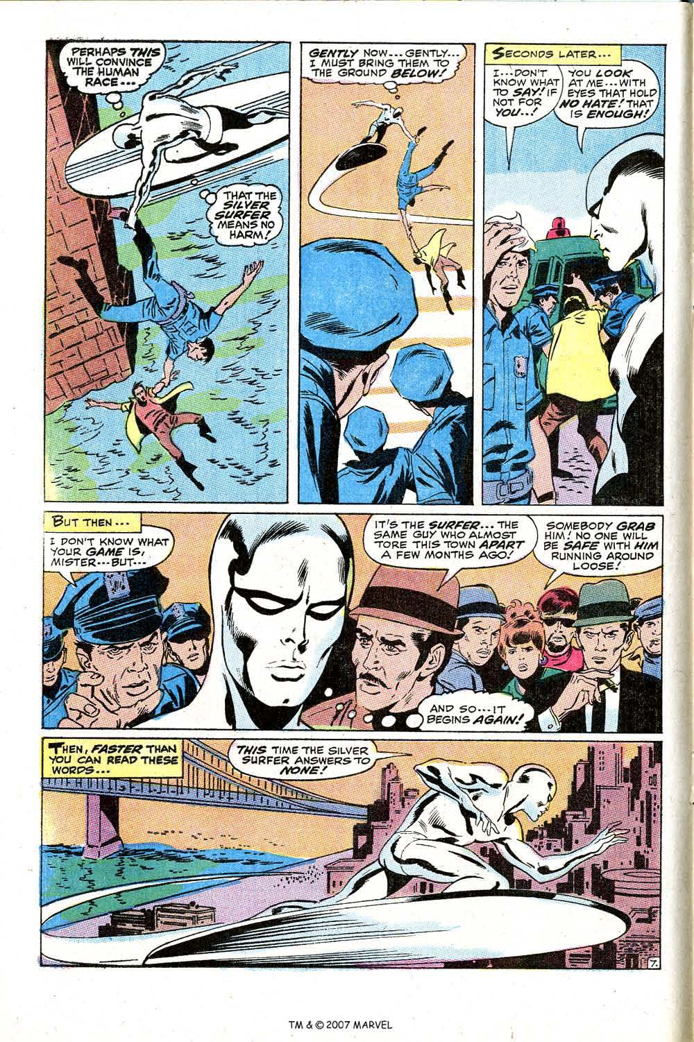 Read online Silver Surfer (1968) comic -  Issue #10 - 12