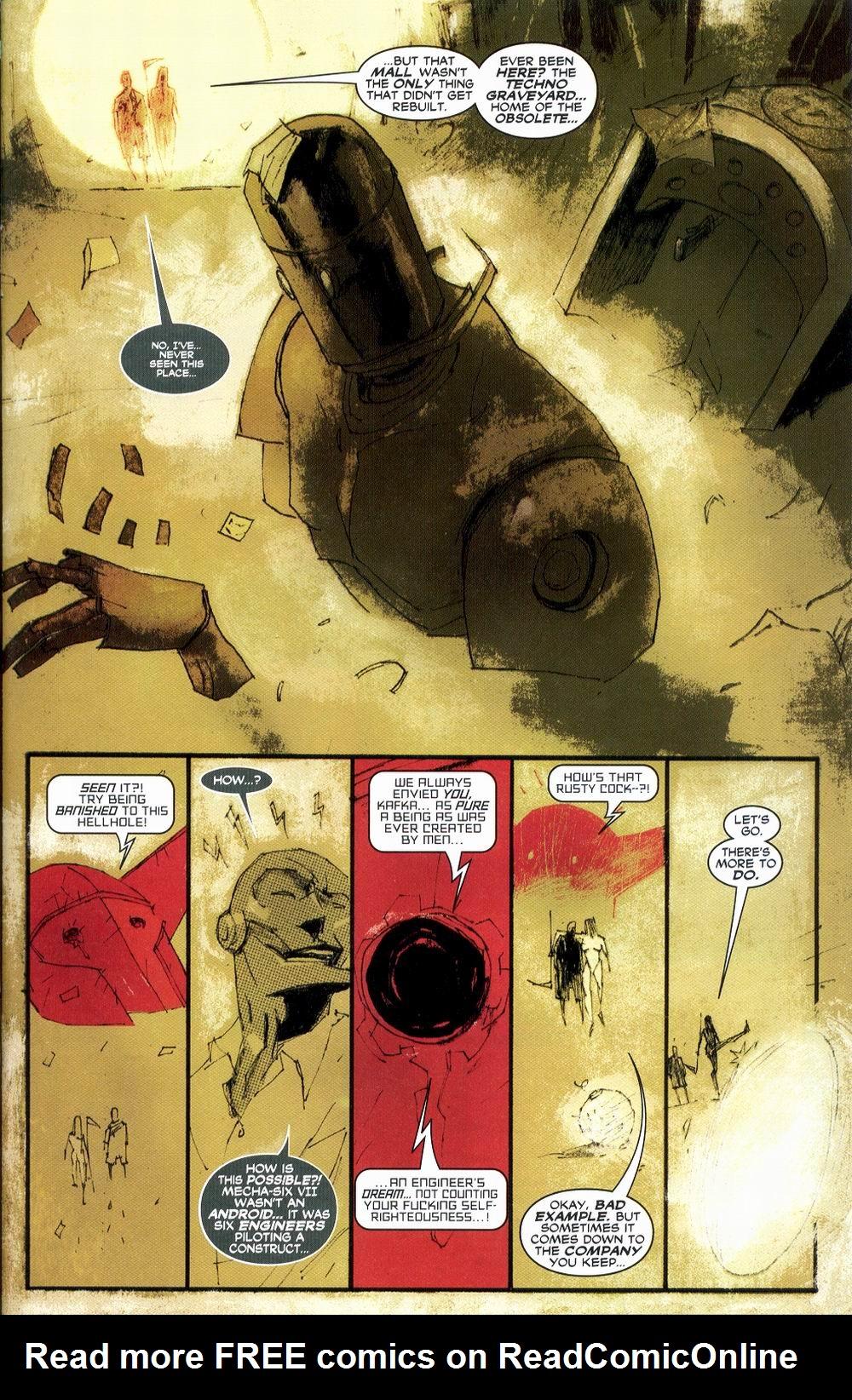 Read online Automatic Kafka comic -  Issue #1 - 18