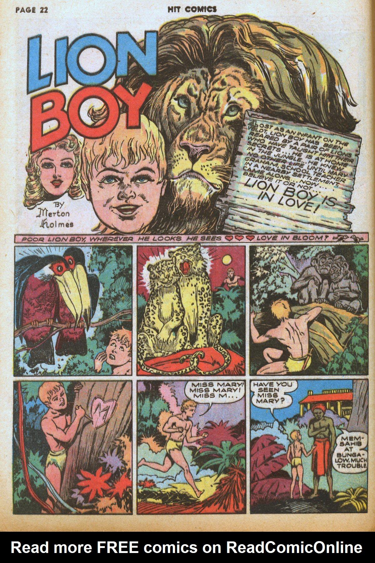 Read online Hit Comics comic -  Issue #12 - 24