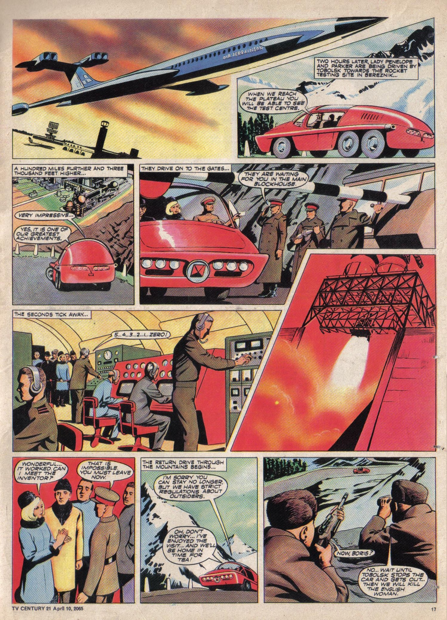Read online TV Century 21 (TV 21) comic -  Issue #12 - 16