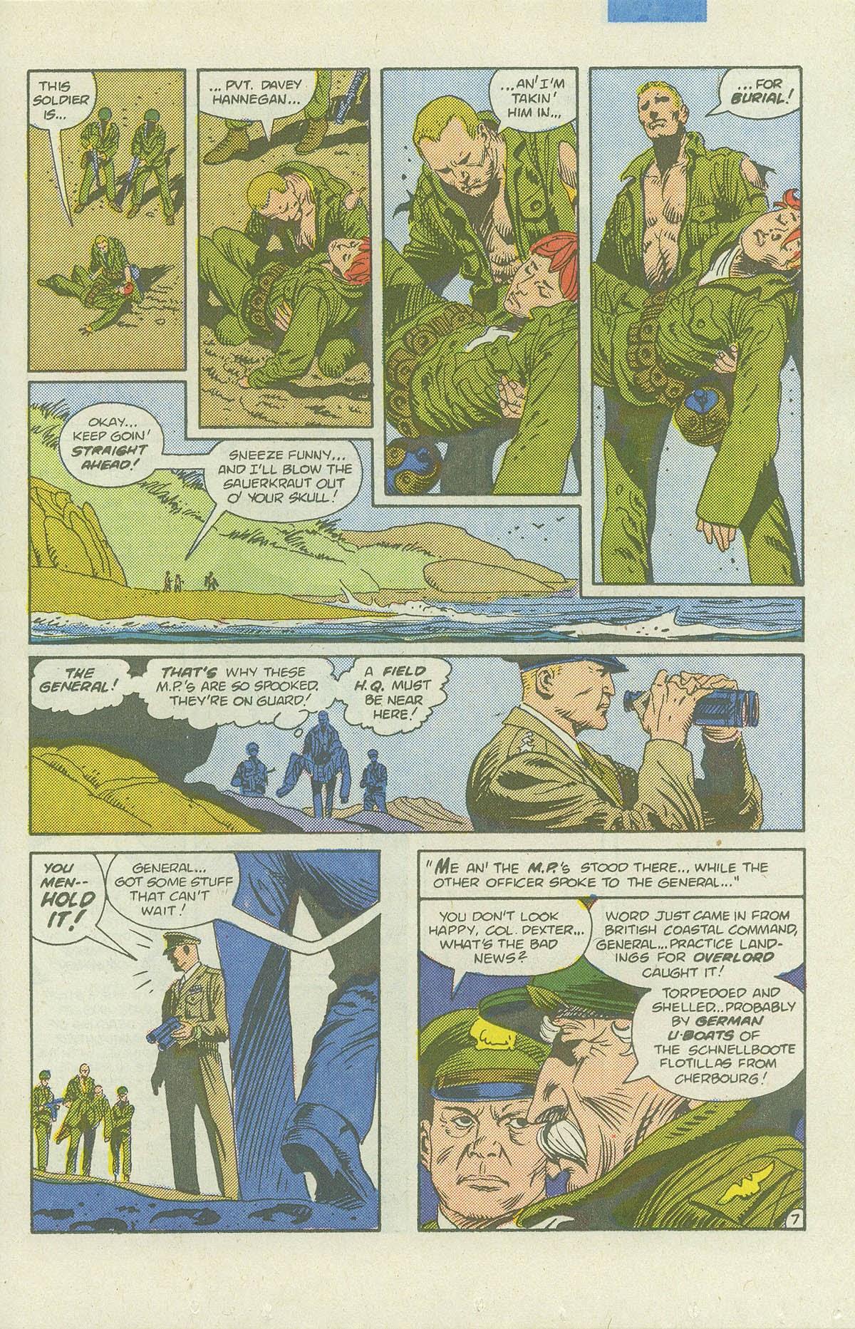 Read online Sgt. Rock comic -  Issue #422 - 10