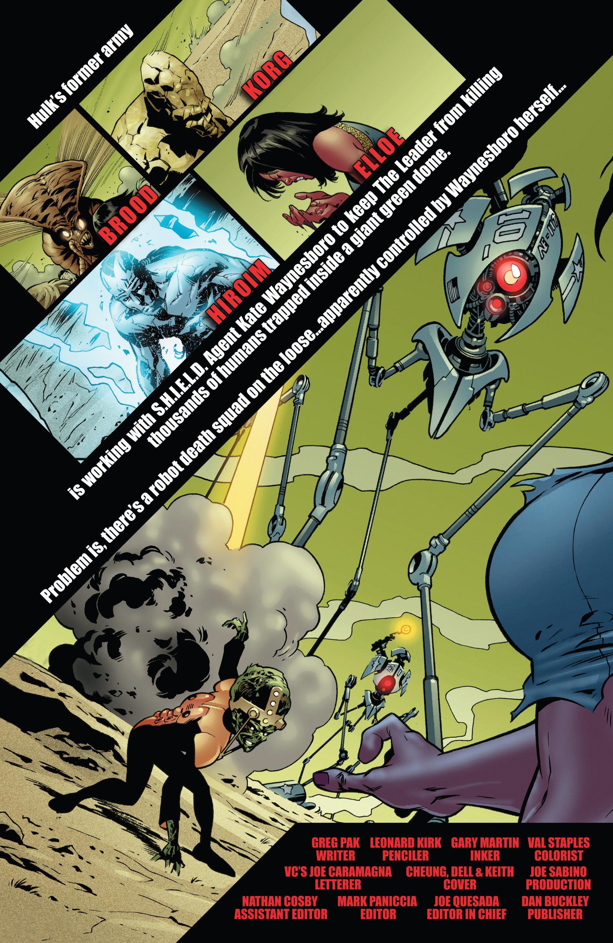 Read online World War Hulk Aftersmash: Warbound, Vol. 1 comic -  Issue #5 - 2