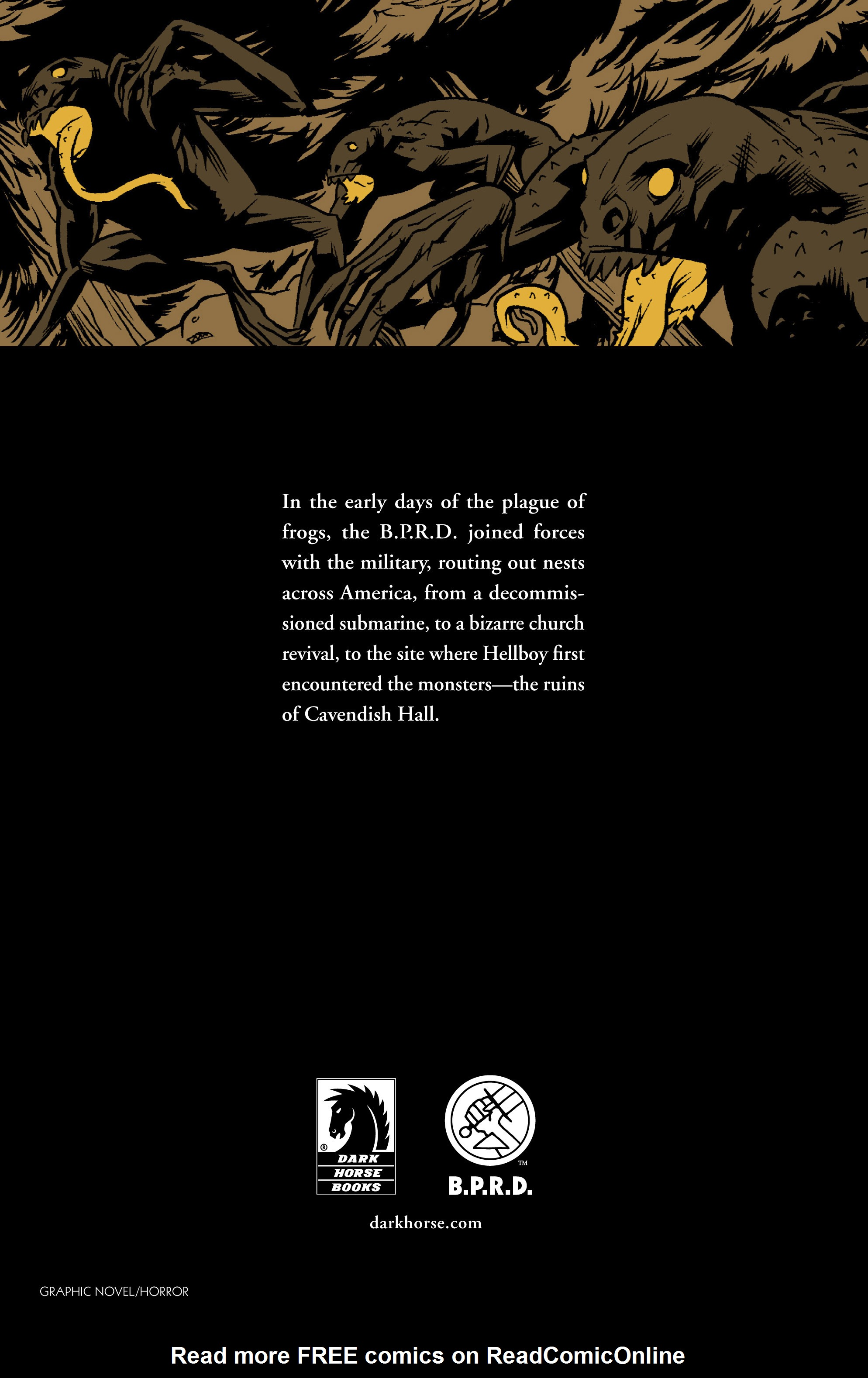 Read online B.P.R.D. (2003) comic -  Issue # TPB 12 - 137