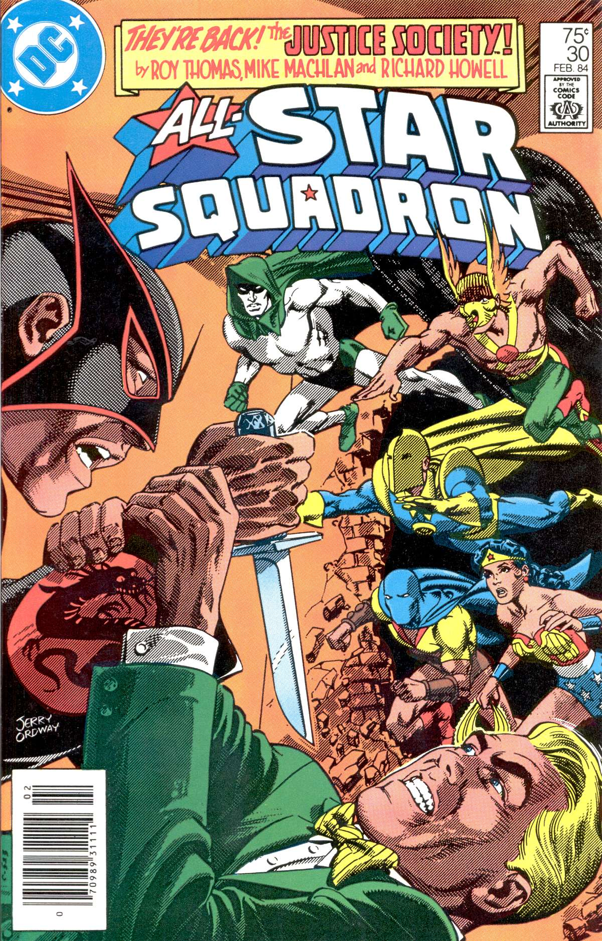 Read online All-Star Squadron comic -  Issue #30 - 1