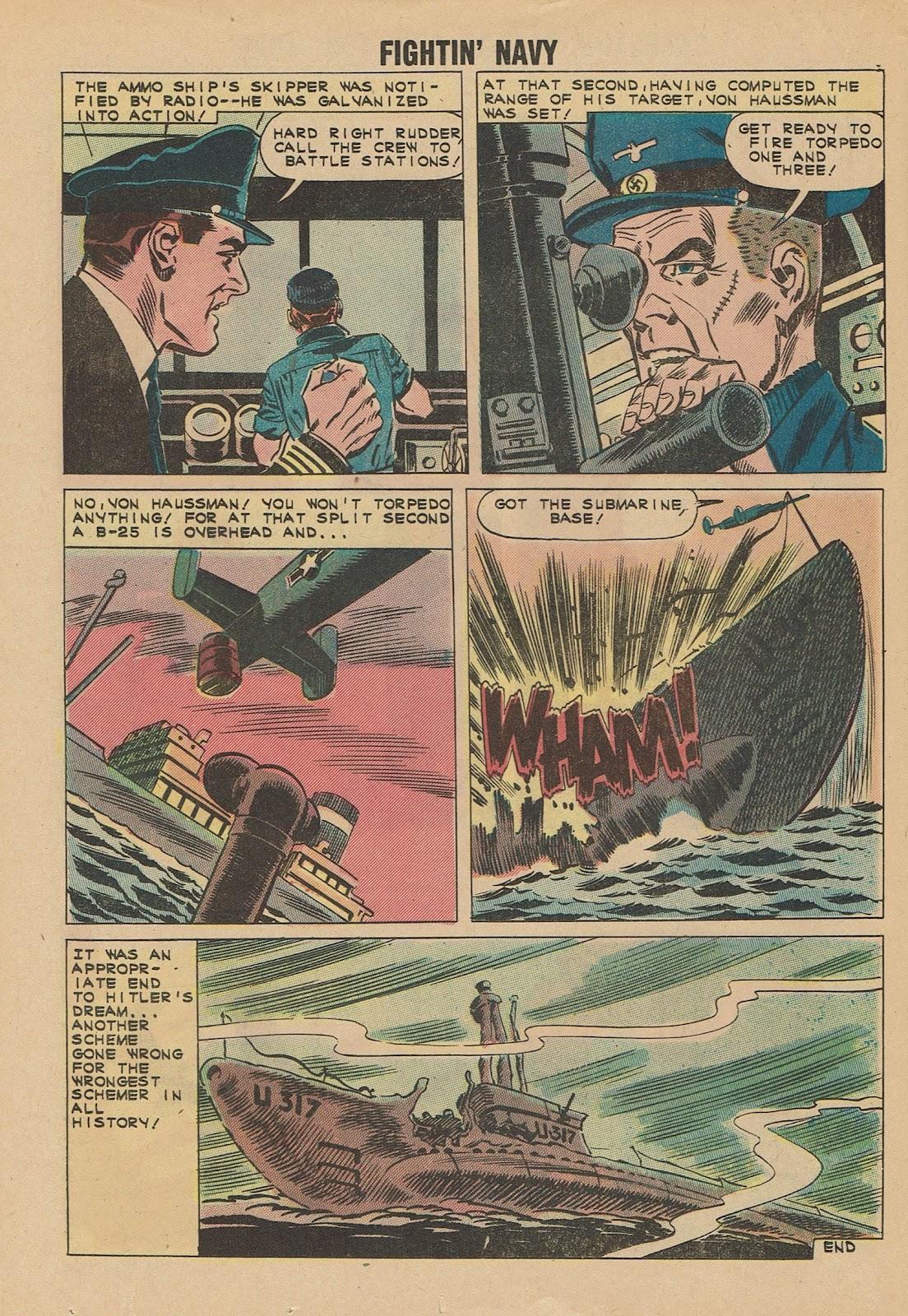 Read online Fightin' Navy comic -  Issue #101 - 20