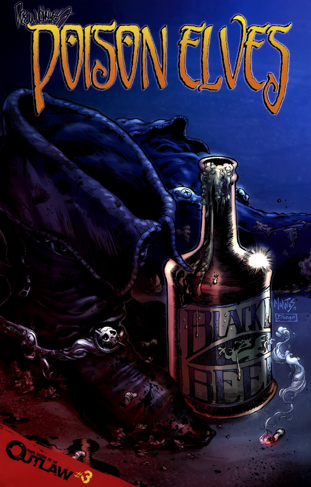 Read online Poison Elves (2013) comic -  Issue #3 - 1