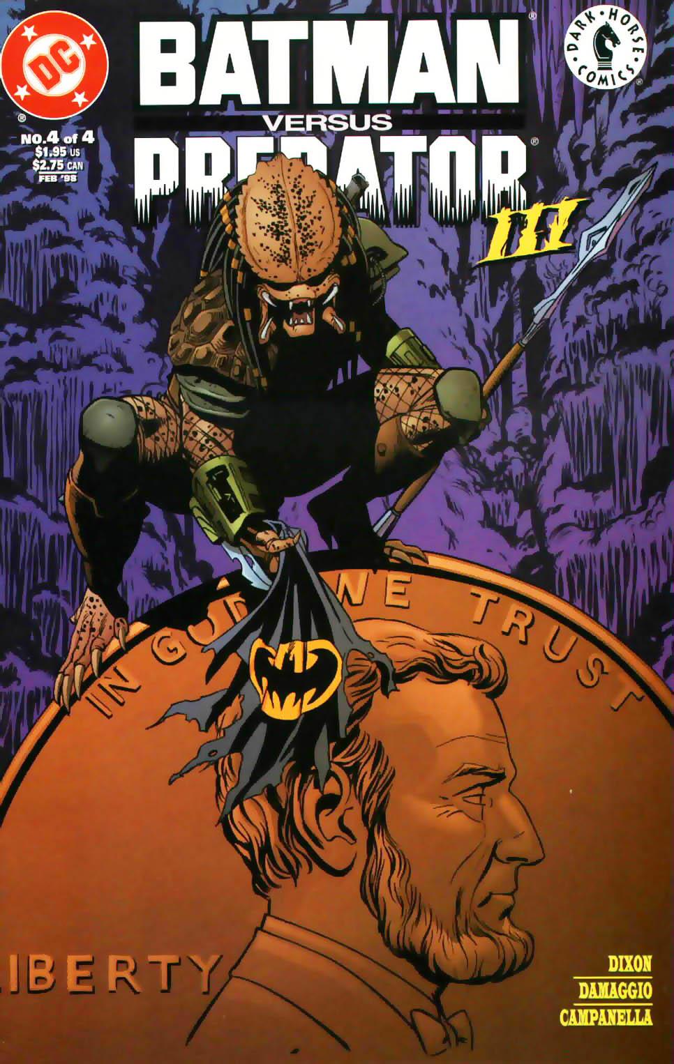 Batman/Predator III 4 Page 1