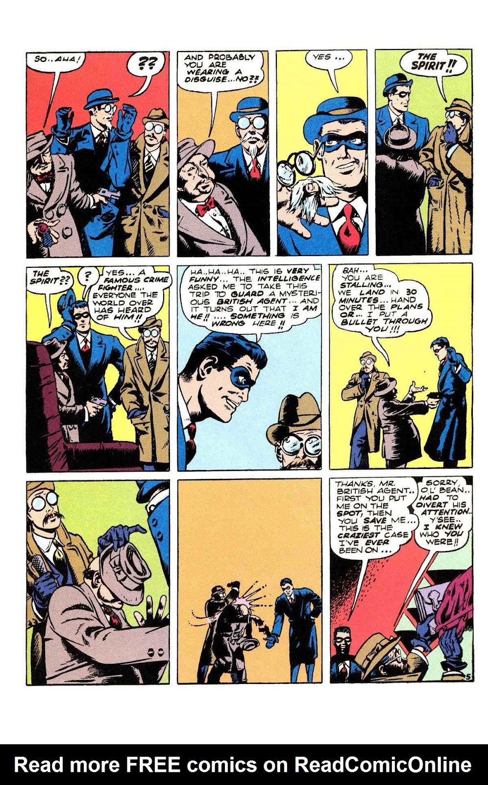 Read online Will Eisner's The Spirit Archives comic -  Issue # TPB 2 (Part 2) - 81