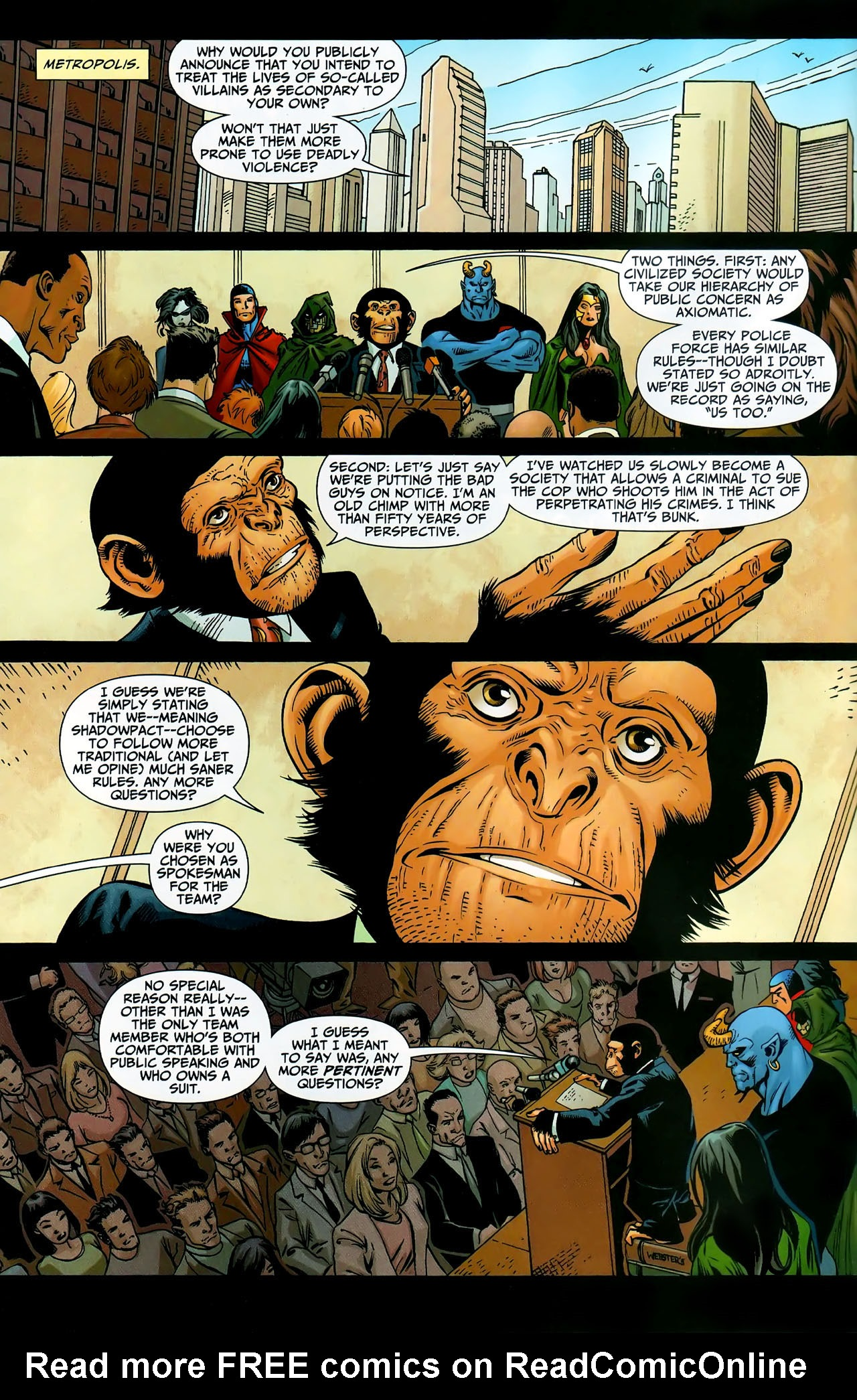Read online Shadowpact comic -  Issue #9 - 6