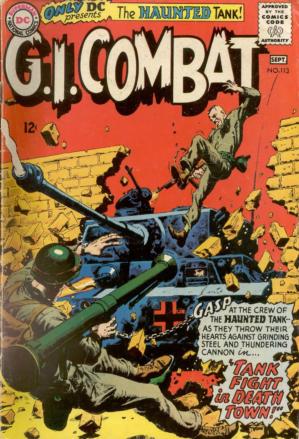G.I. Combat (1952) 113 Page 1