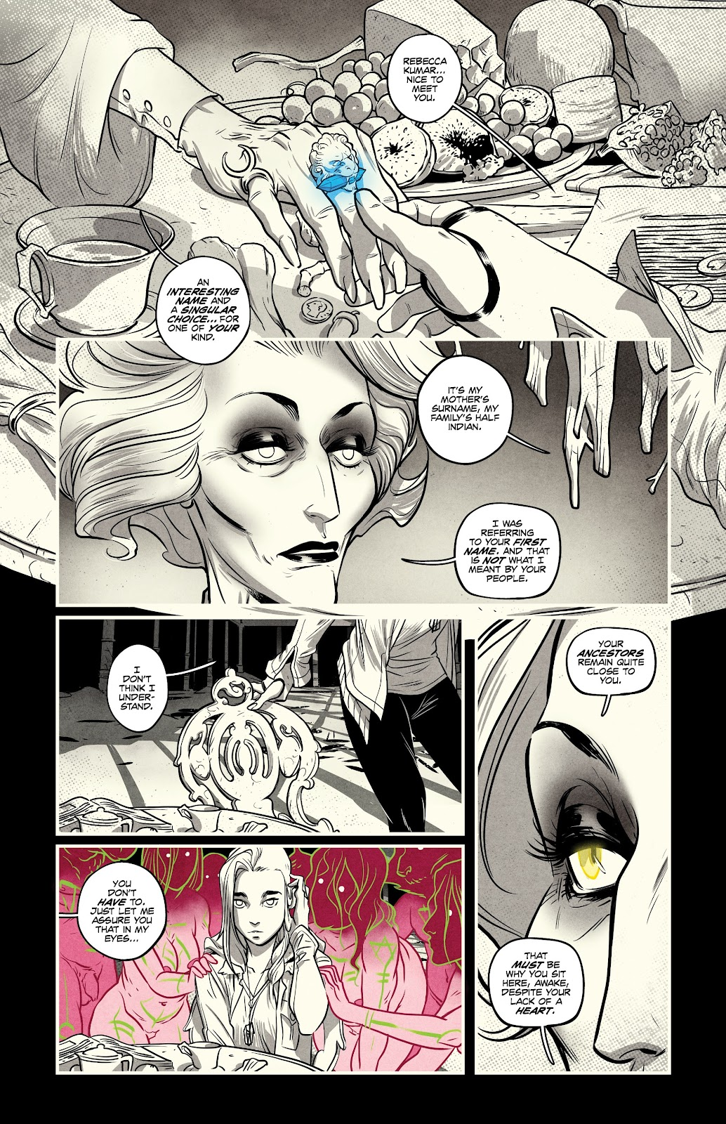 Read online Nomen Omen comic -  Issue #4 - 4