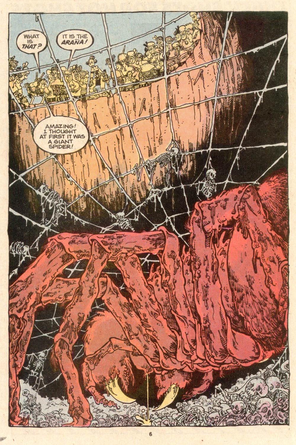 Read online Sergio Aragonés Groo the Wanderer comic -  Issue #52 - 6