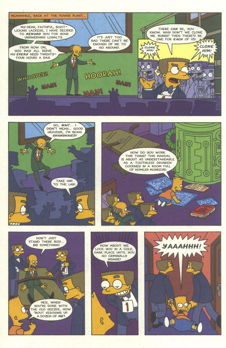 Read online Simpsons Comics comic -  Issue #30 - 15