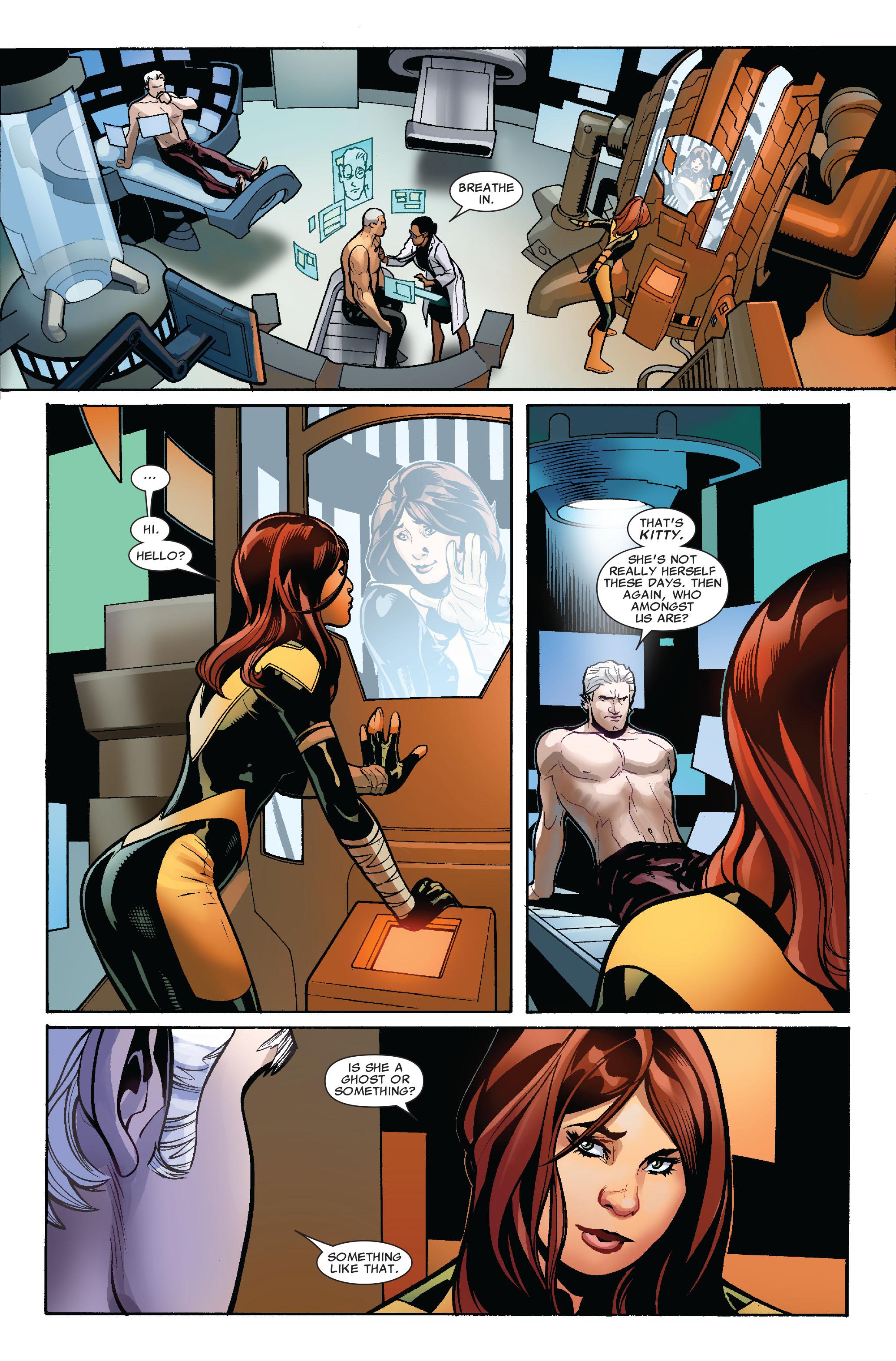 Read online Uncanny X-Men (1963) comic -  Issue #524 - 15