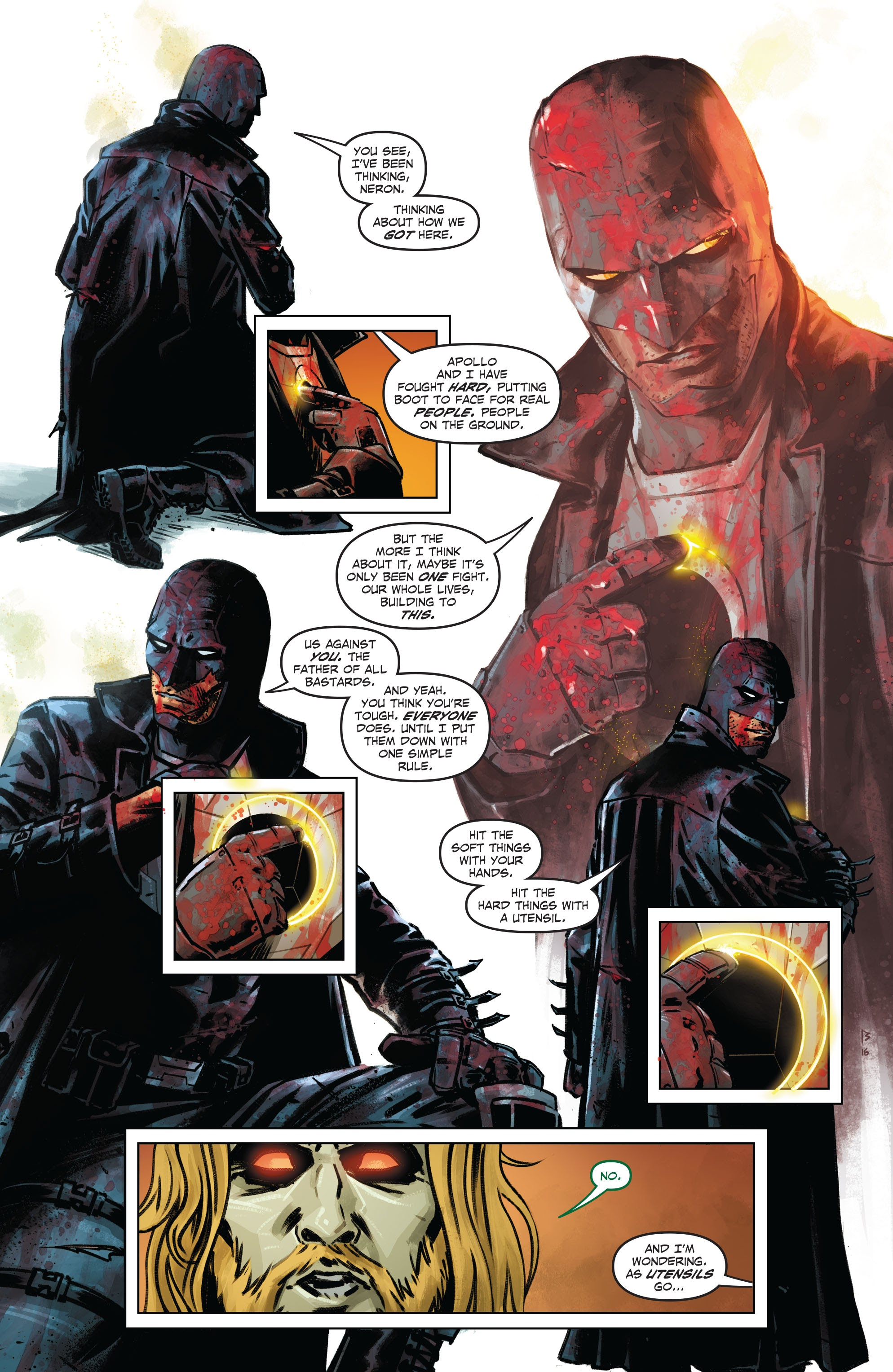 Midnighter and Apollo #_TPB #7 - English 101