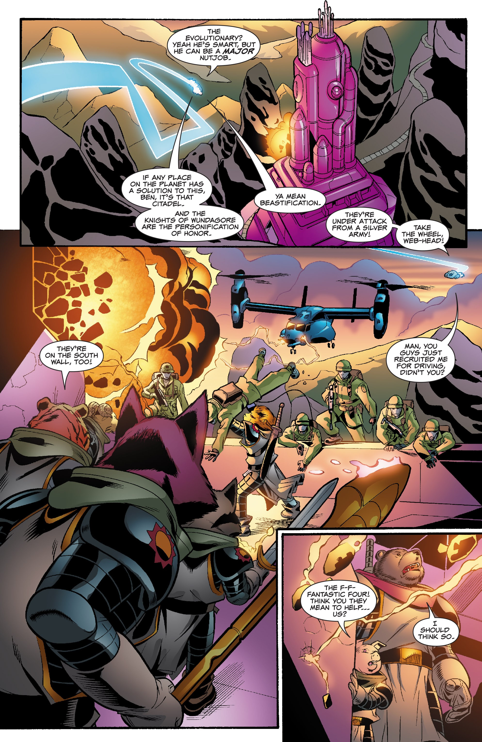 Spider-Man and the Fantastic Four issue 3 - Page 13