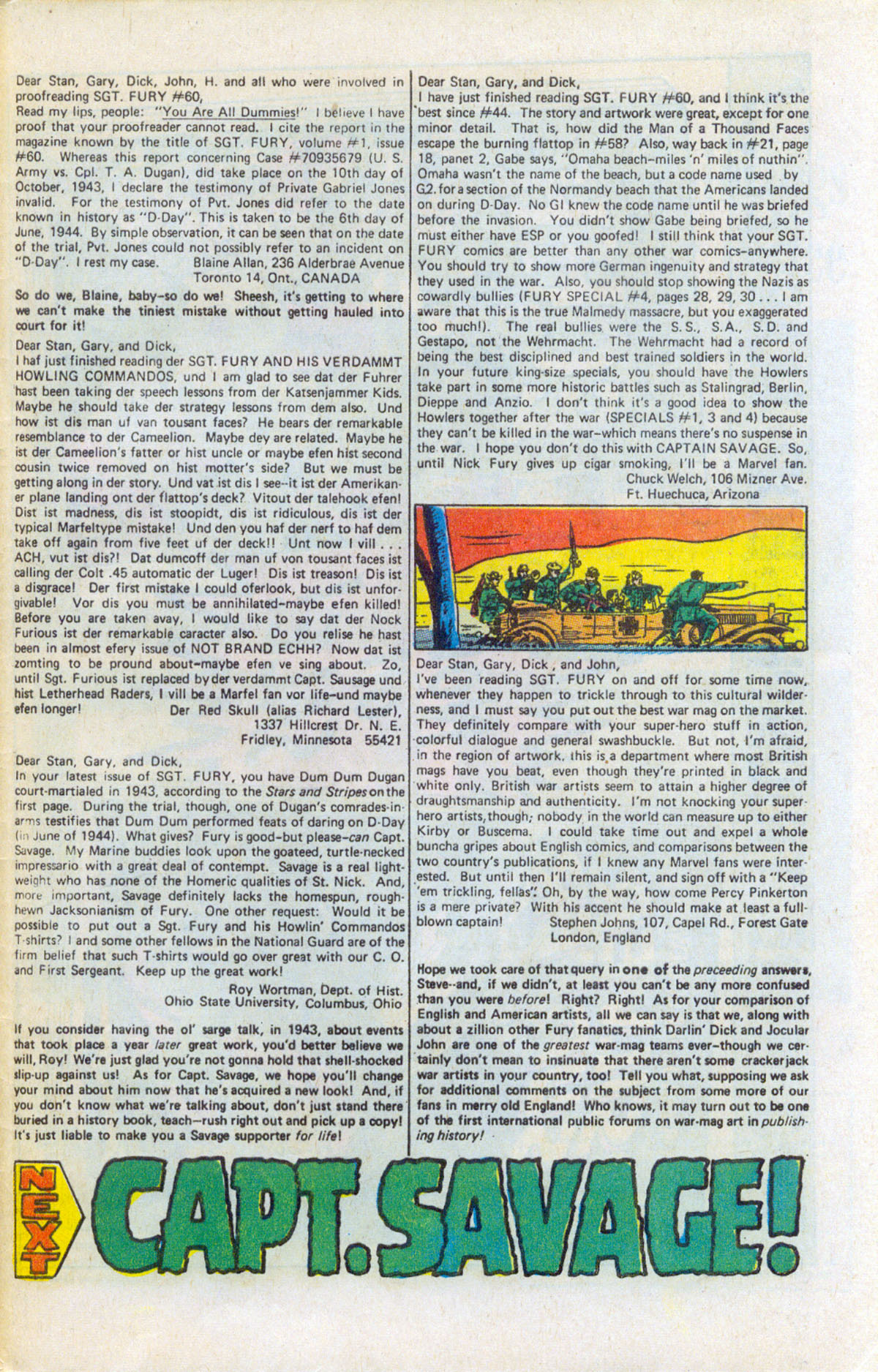 Read online Sgt. Fury comic -  Issue #63 - 33