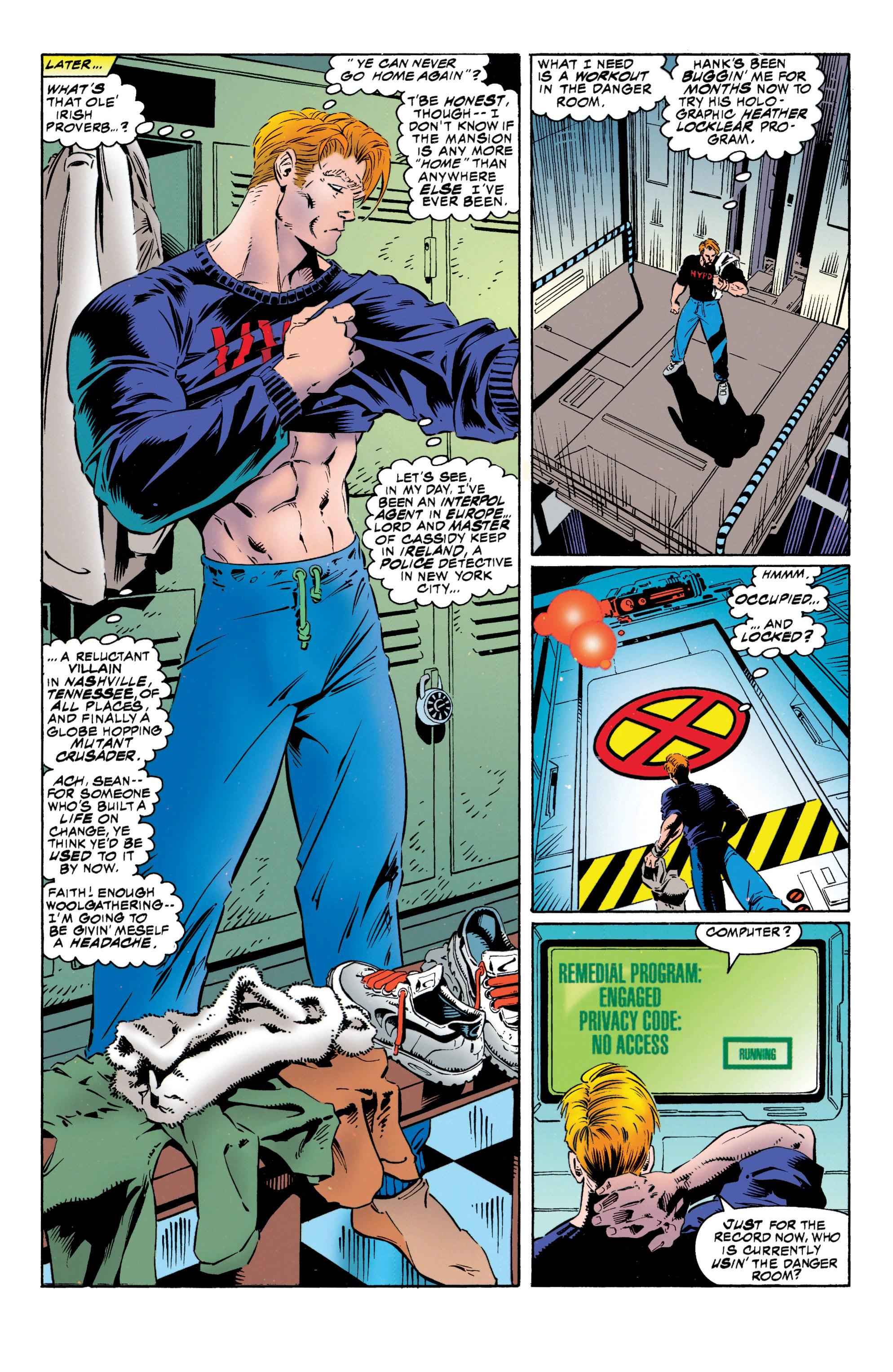 Read online Uncanny X-Men (1963) comic -  Issue #316 - 12