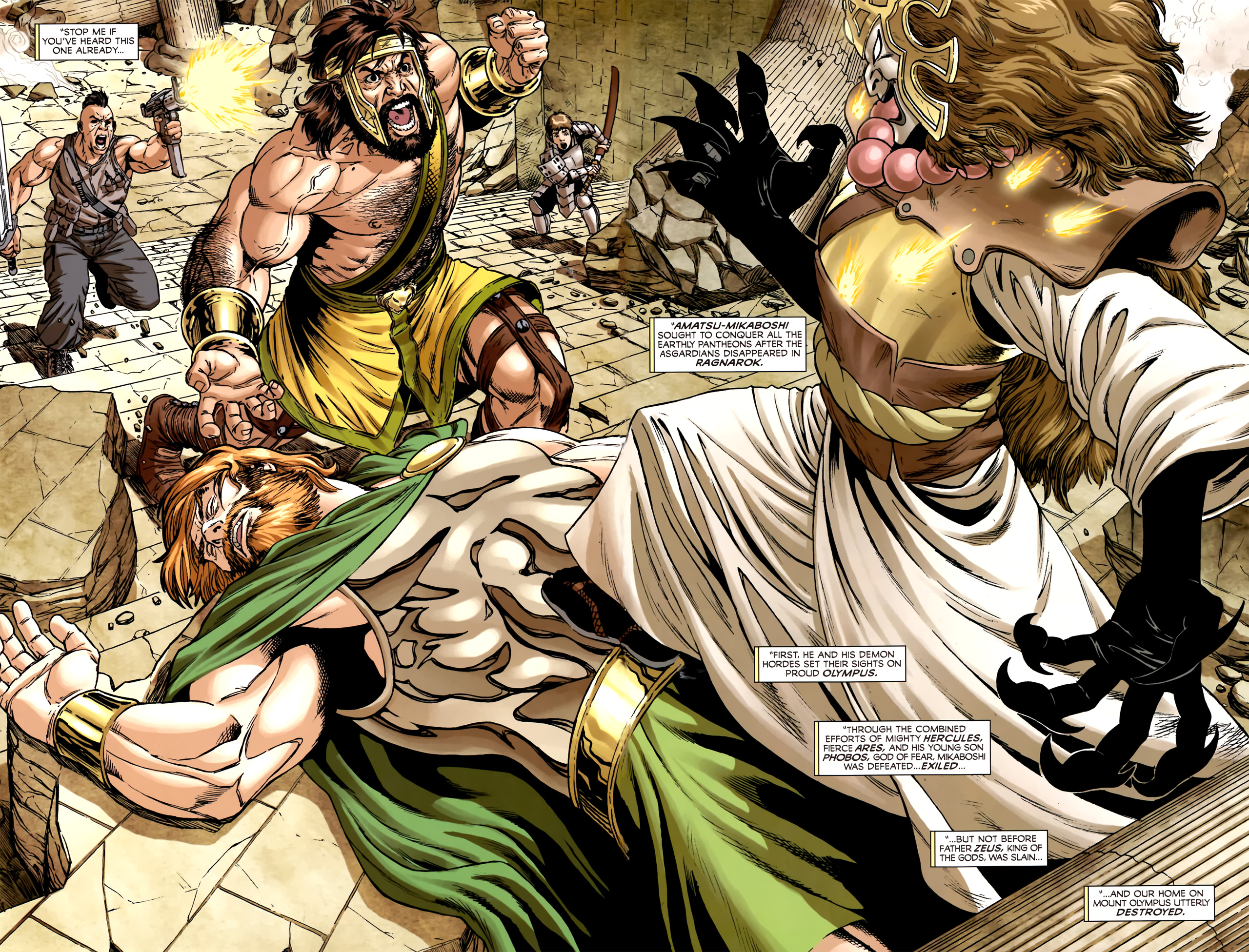 Read online Assault on New Olympus Prologue comic -  Issue #Assault on New Olympus Prologue Full - 3