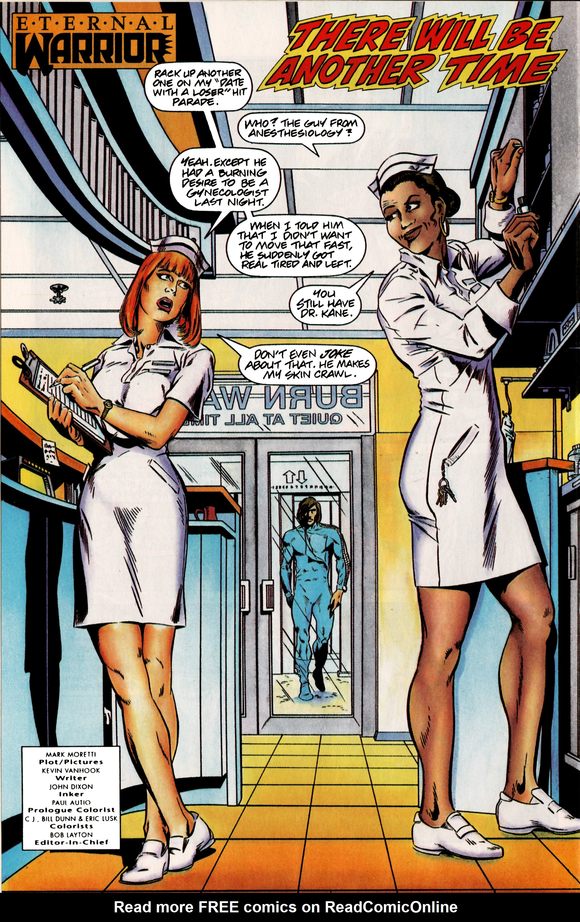 Read online Eternal Warrior (1992) comic -  Issue #12 - 7
