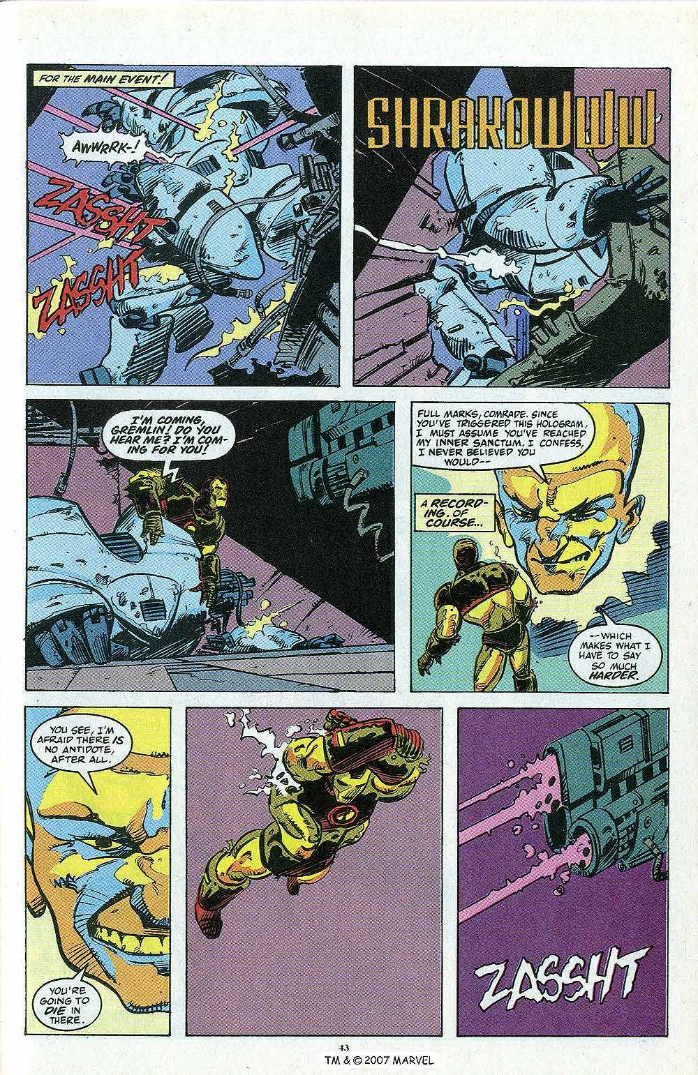 Iron Man Annual issue 13 - Page 45