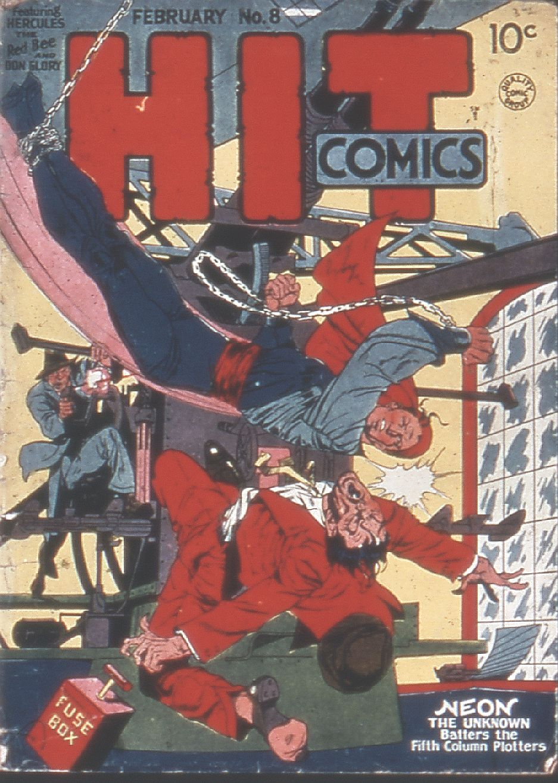 Read online Hit Comics comic -  Issue #8 - 1