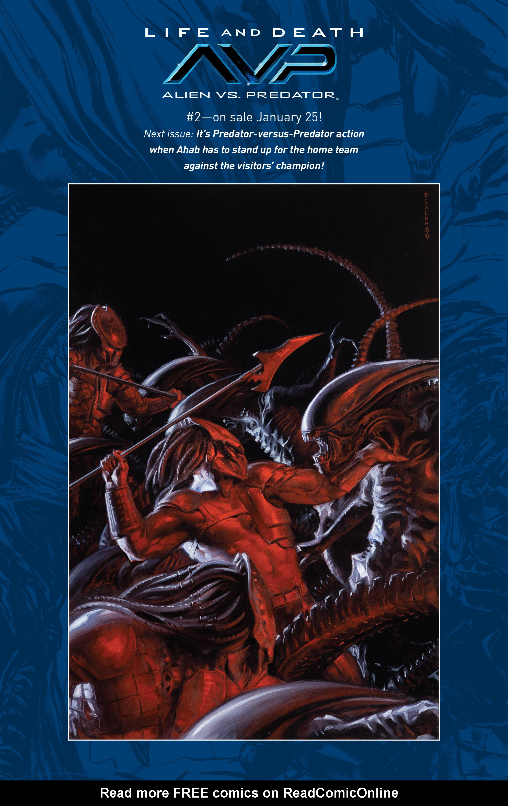 Read online Alien Vs. Predator: Life and Death comic -  Issue #1 - 29