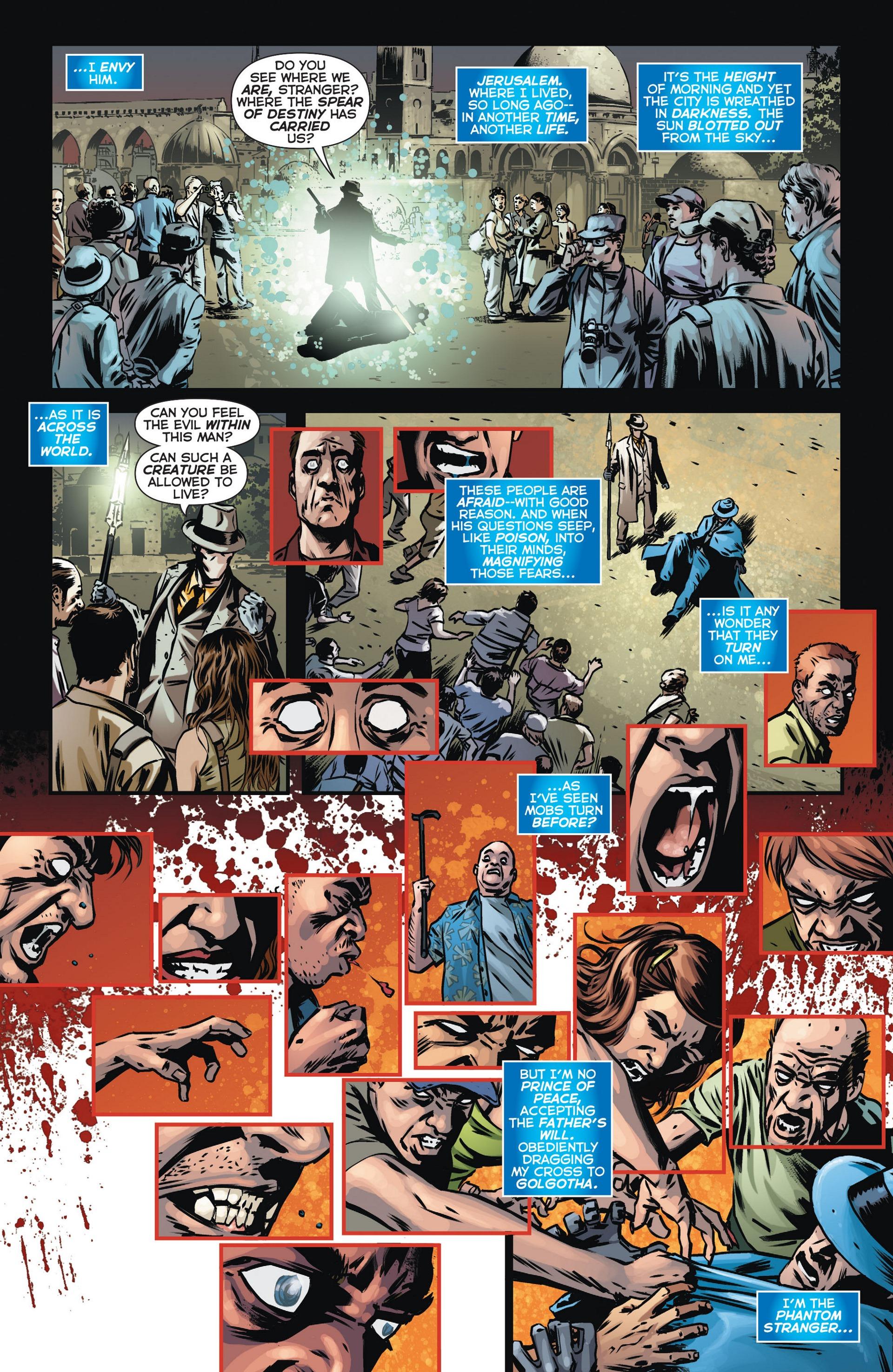 Read online Trinity of Sin: The Phantom Stranger comic -  Issue #13 - 15
