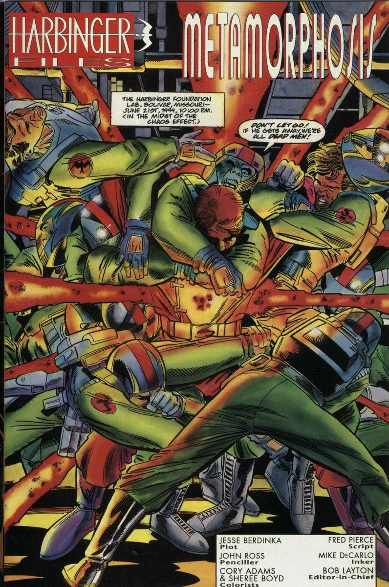 Read online Harbinger Files comic -  Issue #2 - 2