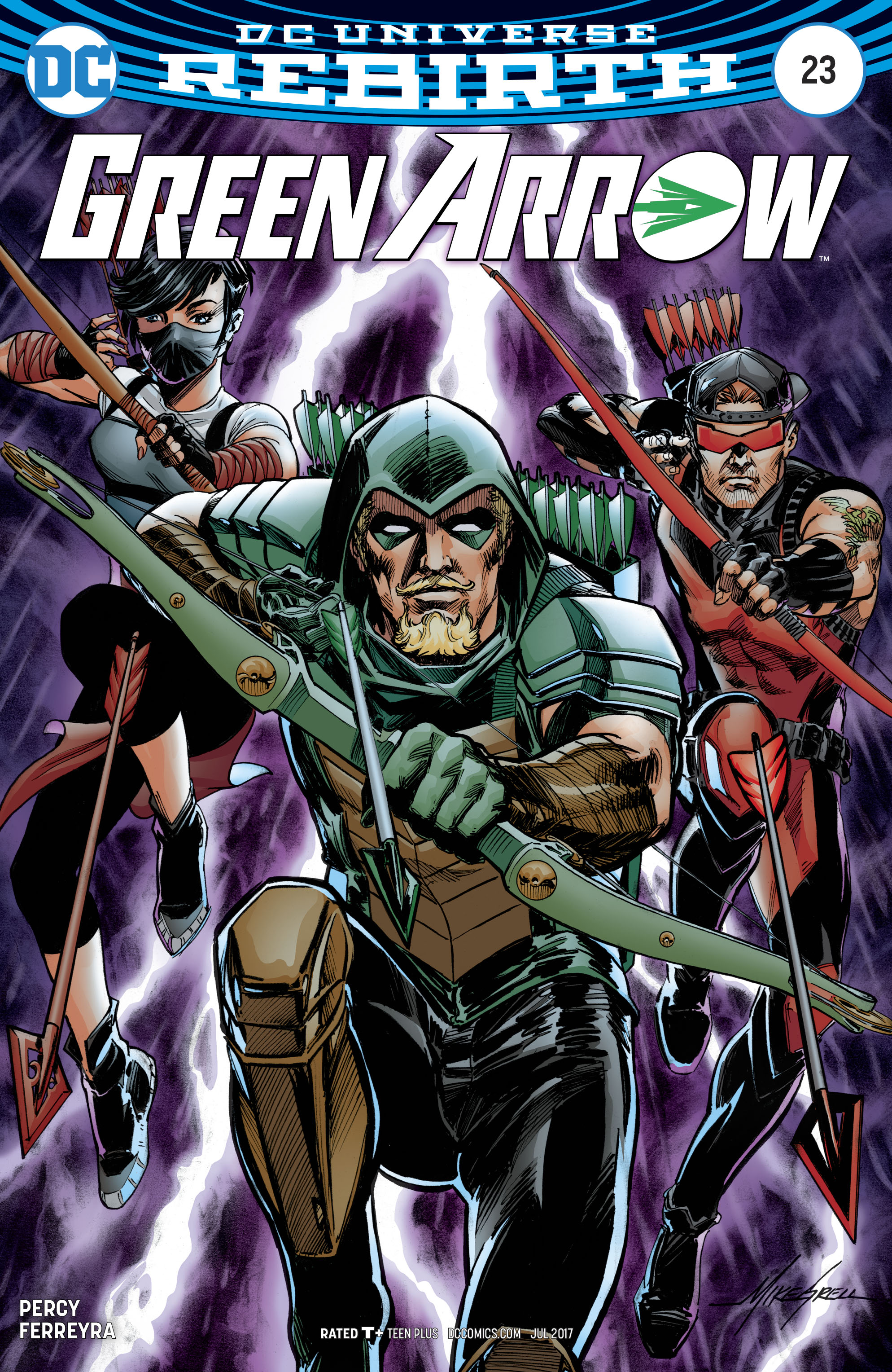 Read online Green Arrow (2016) comic -  Issue #23 - 3