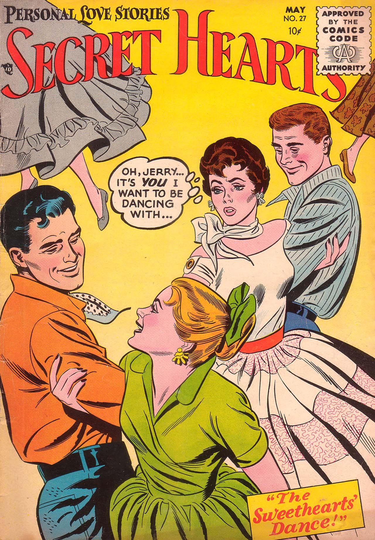 Read online Secret Hearts comic -  Issue #27 - 1