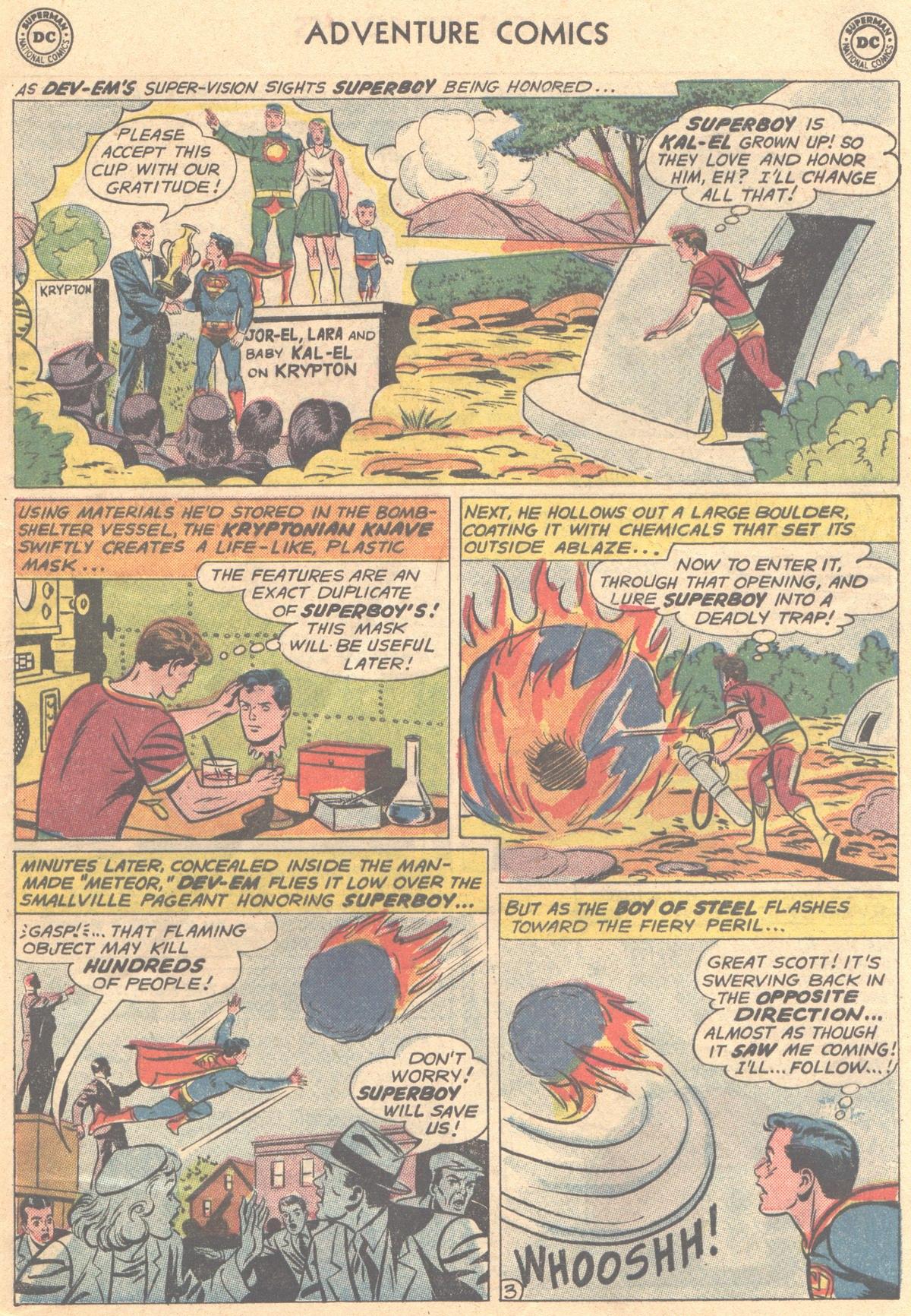 Read online Adventure Comics (1938) comic -  Issue #288 - 5