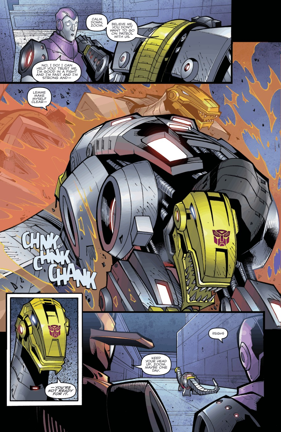 Read online Transformers Prime: Beast Hunters comic -  Issue #3 - 17