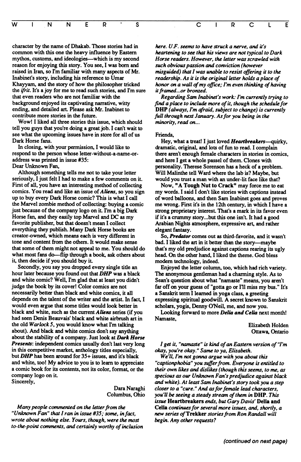 Dark Horse Presents (1986) Issue #37 #42 - English 13