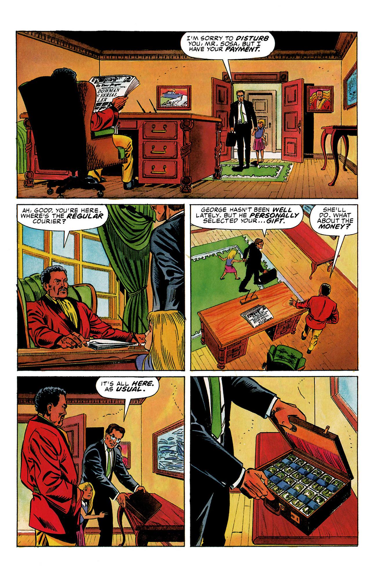 Read online Shadowman (1992) comic -  Issue #3 - 8