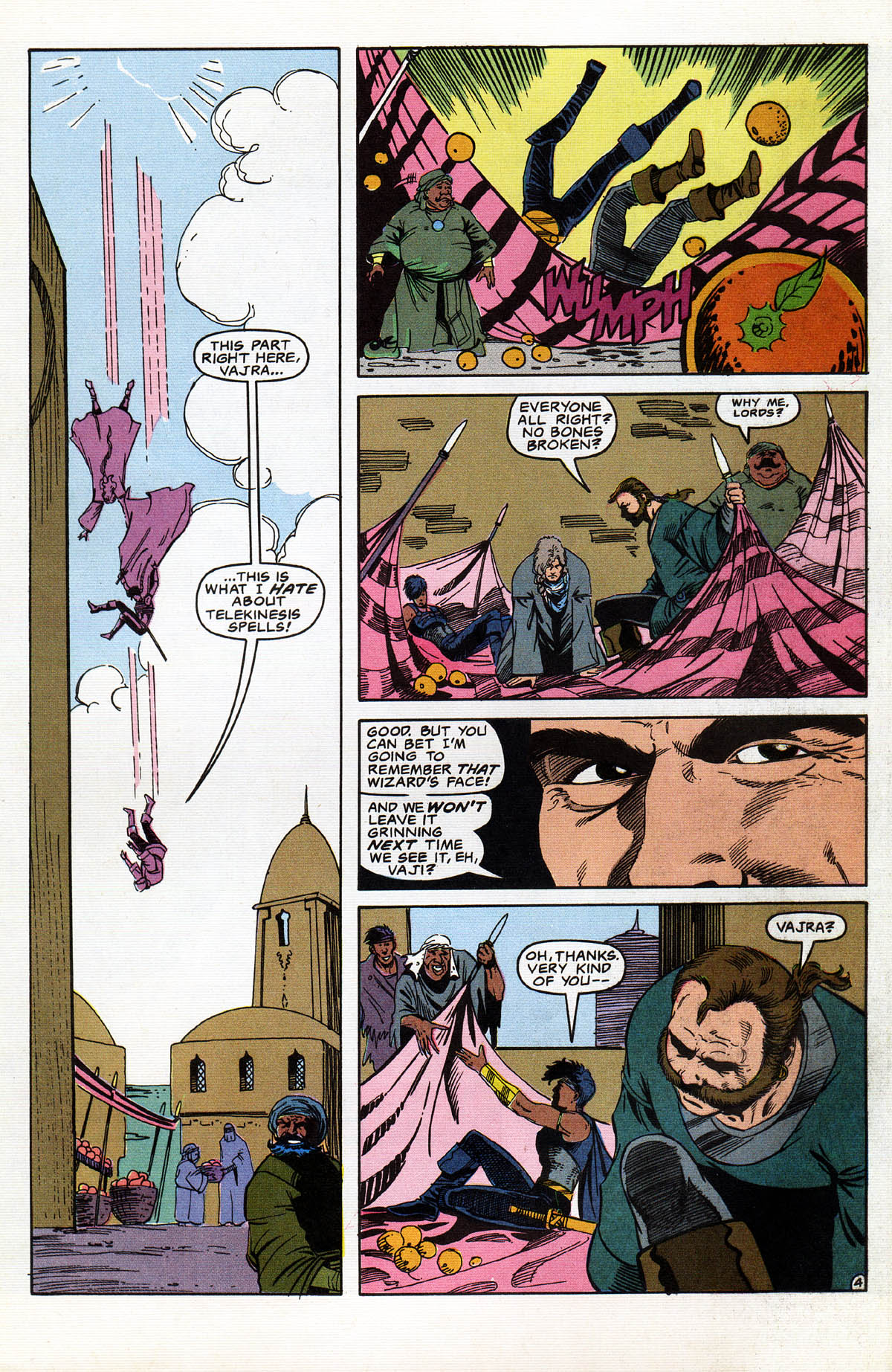 Read online Advanced Dungeons & Dragons comic -  Issue #14 - 5