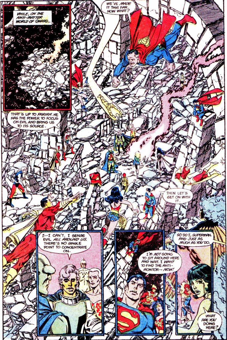 Crisis on Infinite Earths (1985) 12 Page 17
