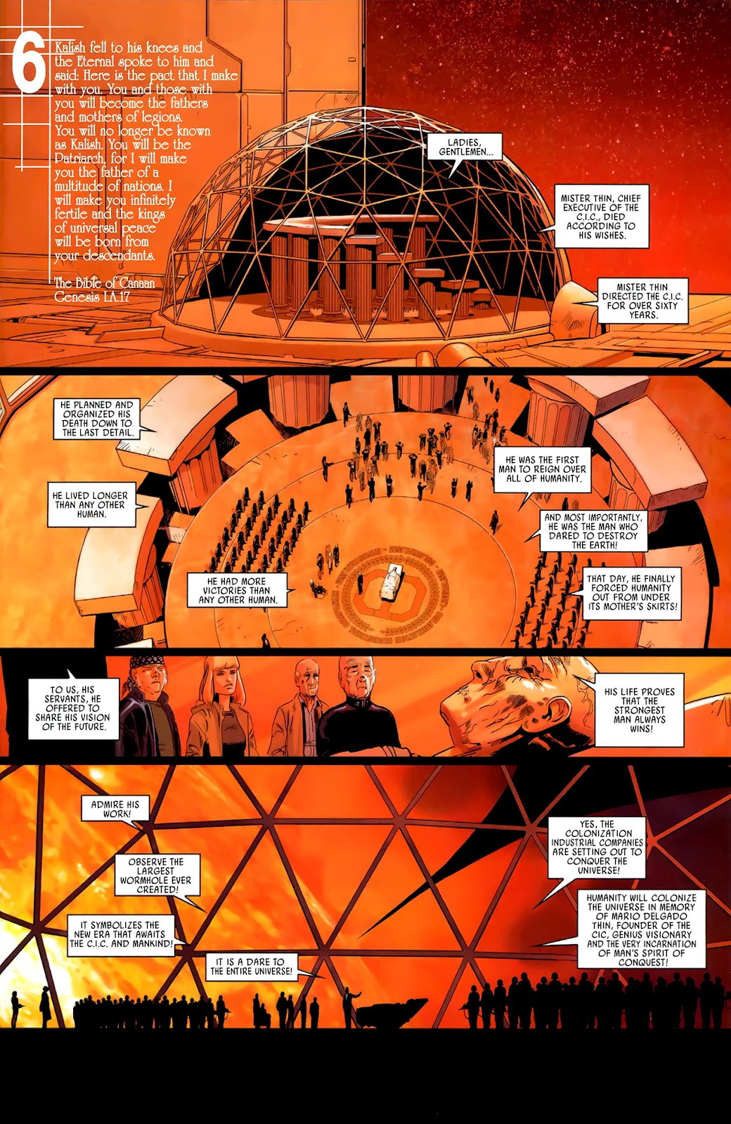 Read online Universal War One: Revelations comic -  Issue #3 - 41