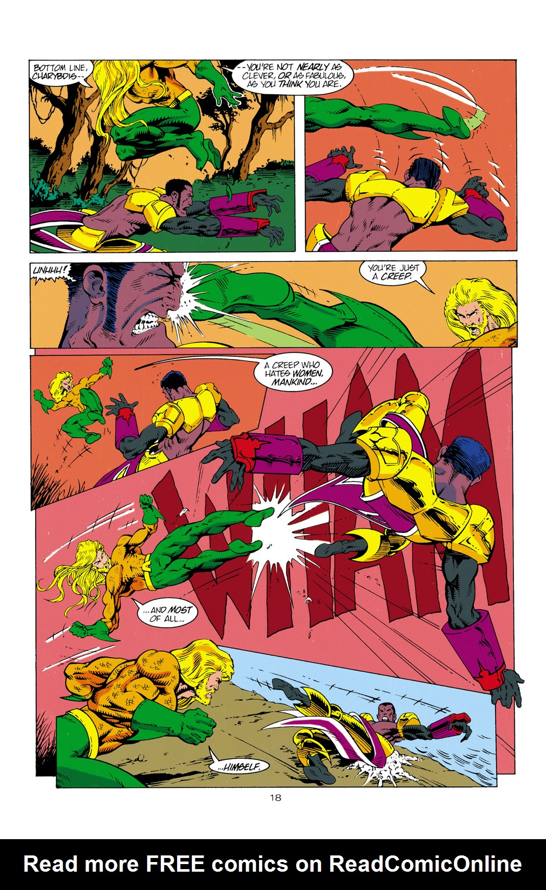 Read online Aquaman (1994) comic -  Issue #2 - 19