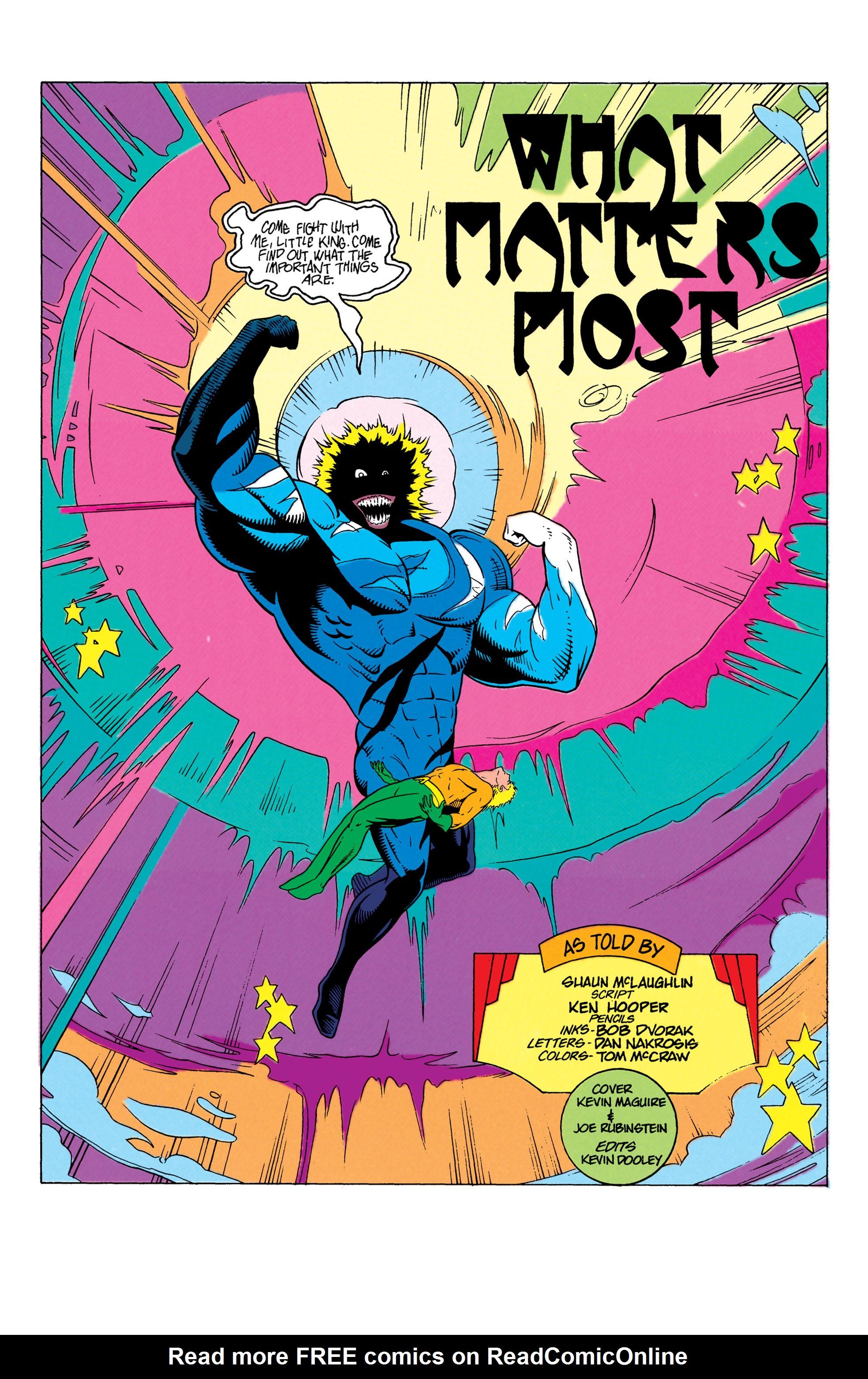 Read online Aquaman (1991) comic -  Issue #7 - 2