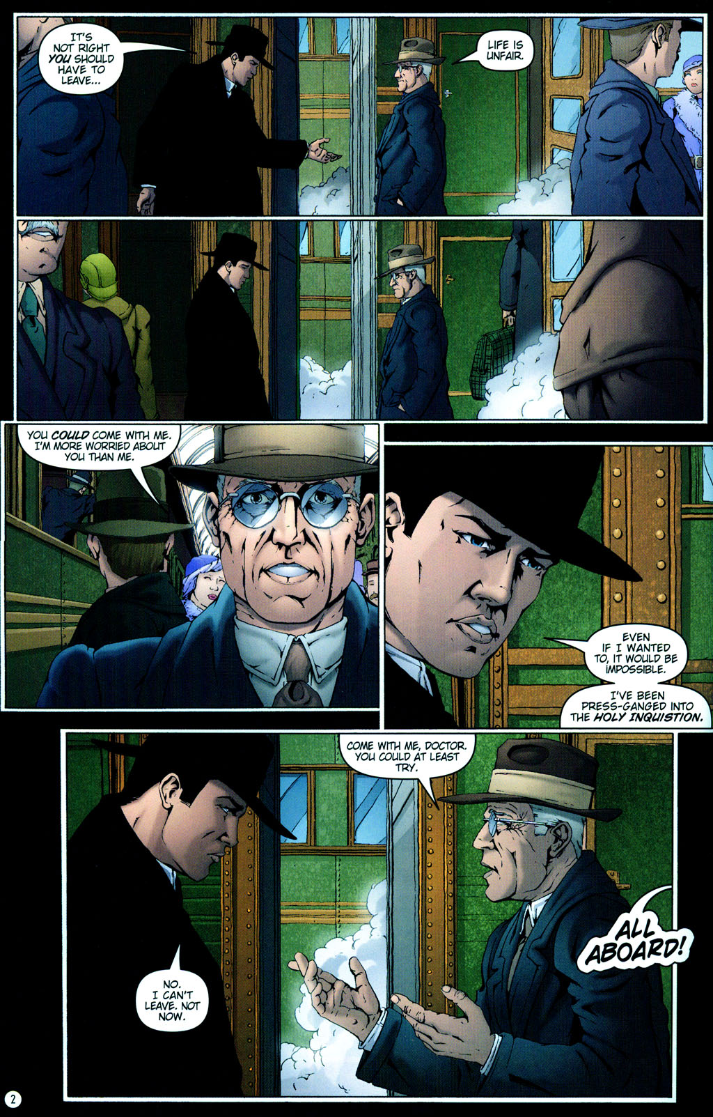 Read online Rex Mundi comic -  Issue #12 - 6