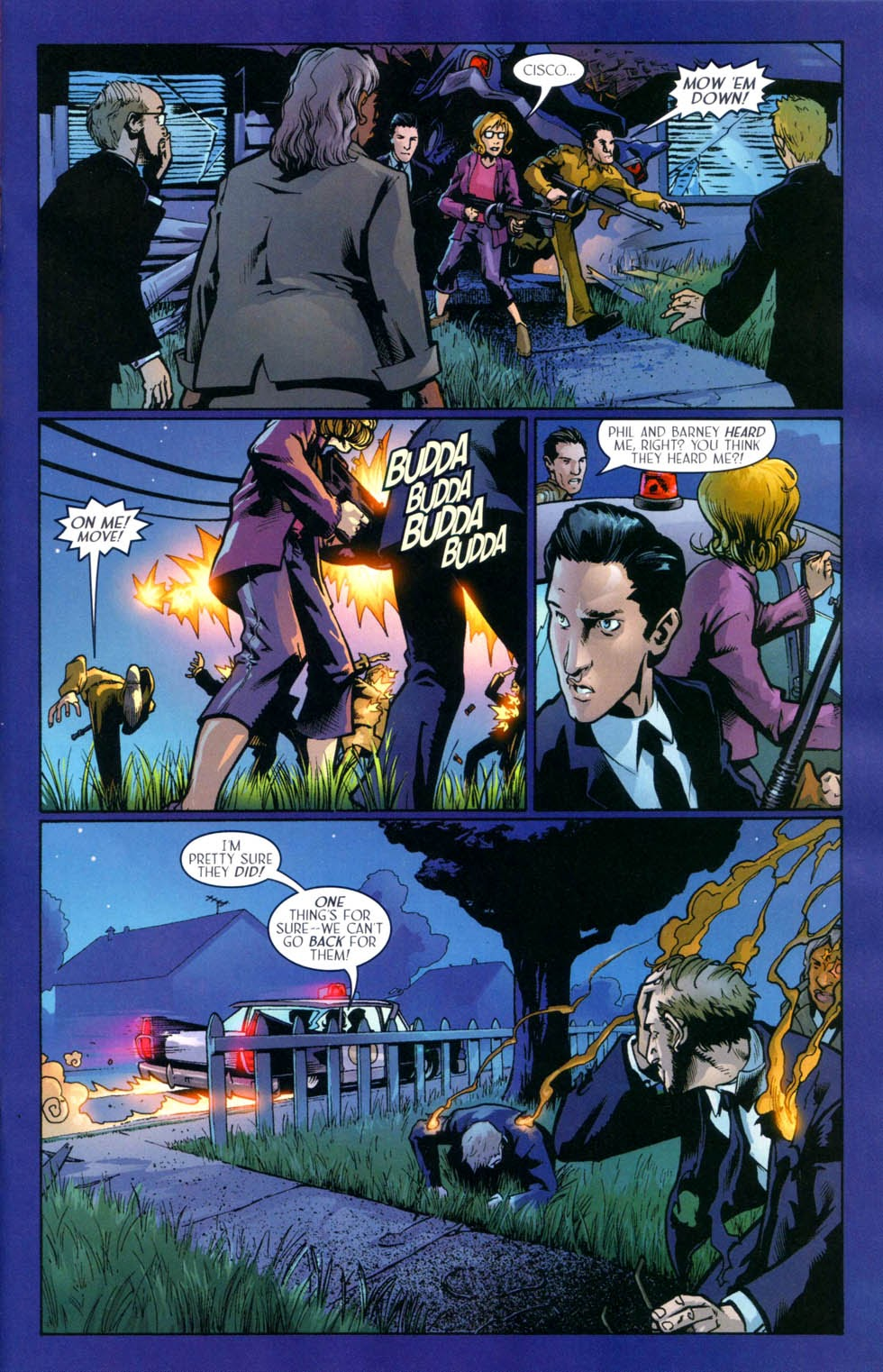 Read online Route 666 comic -  Issue #9 - 12
