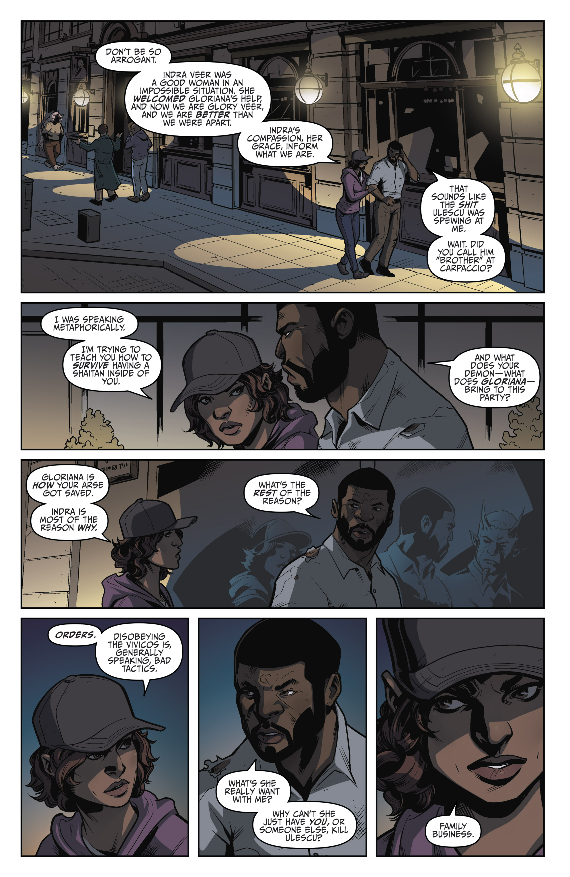 Read online Darkness Visible comic -  Issue #5 - 12