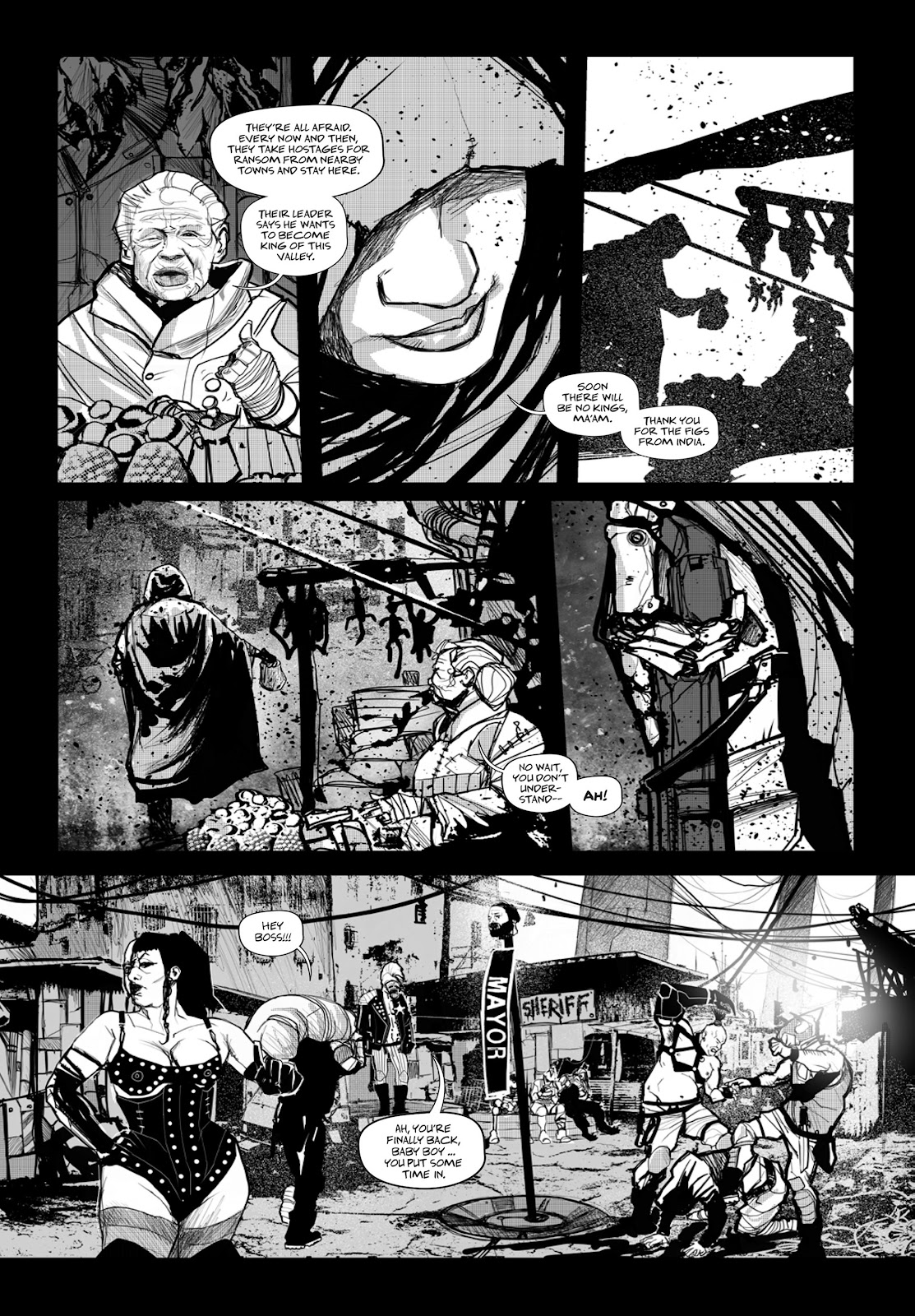 Read online Wrath of God comic -  Issue # _TPB - 82